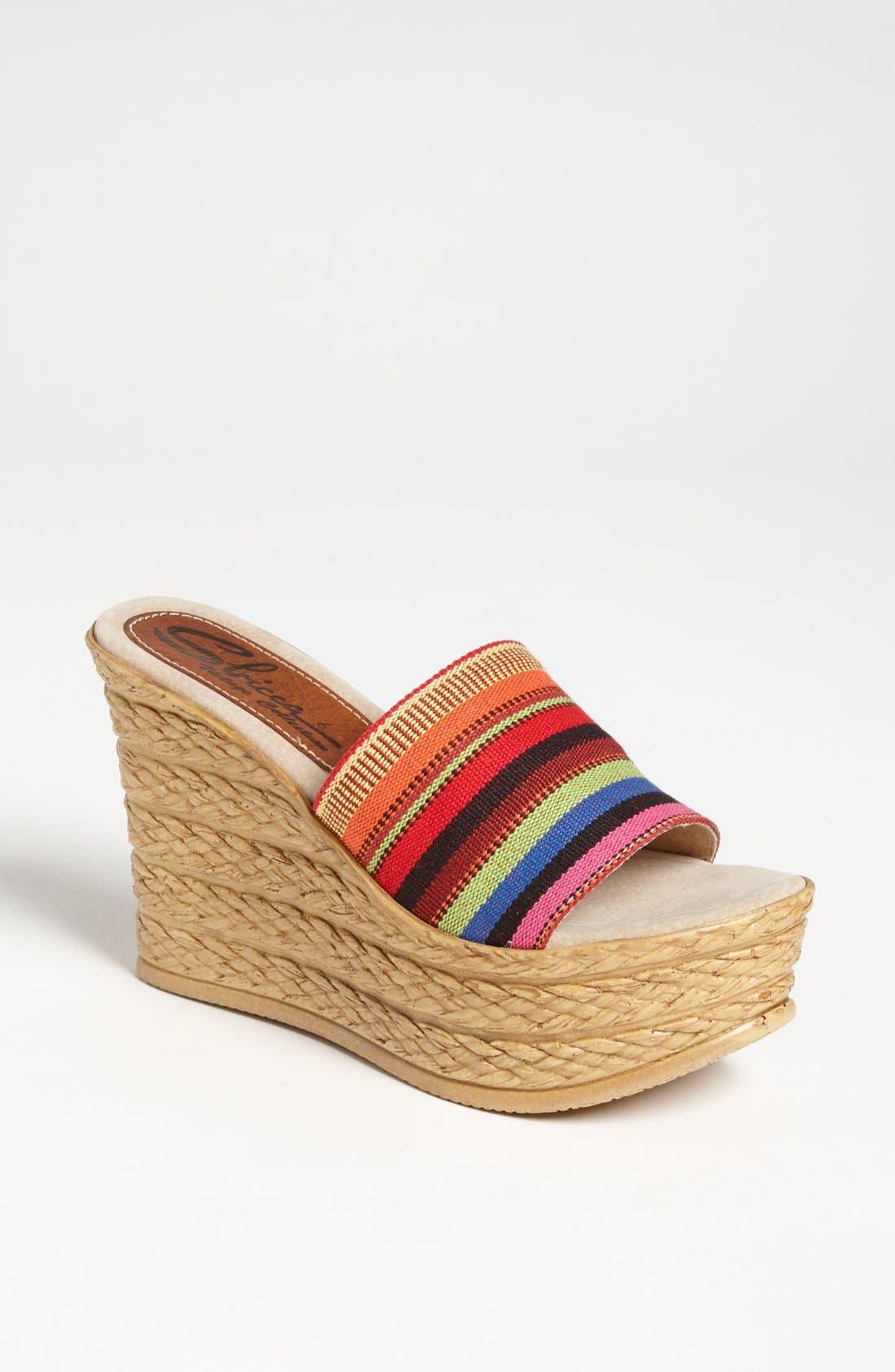 Alternate Image 1 Selected - Sbicca 'Onelove' Wedge Sandal
