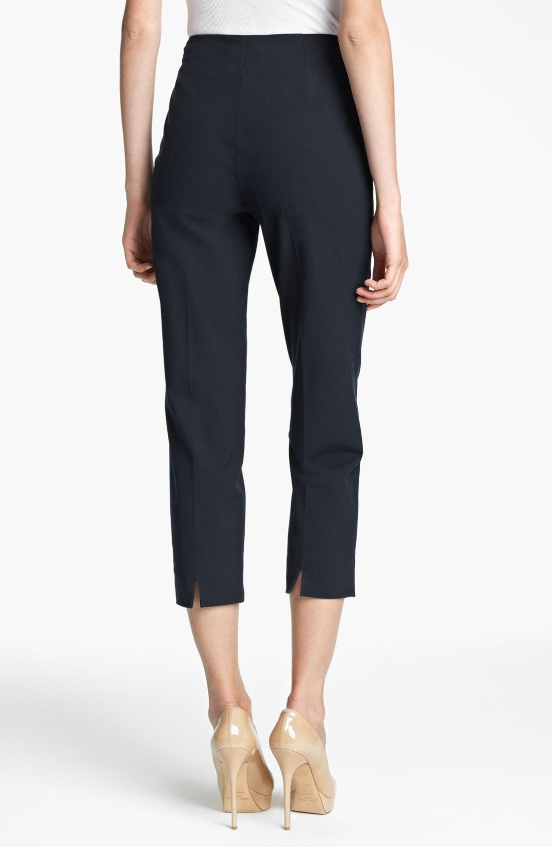 Alternate Image 2  - Piazza Sempione 'Audrey' Stretch Wool Crop Pants
