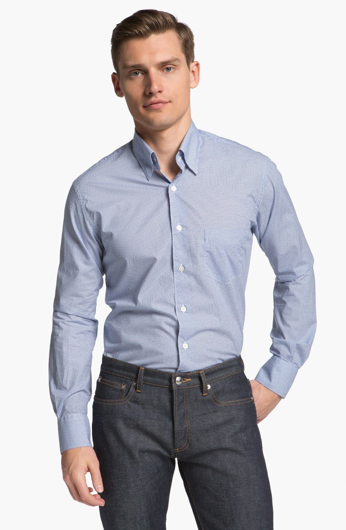 Alternate Image 1 Selected - Canali Sport Shirt