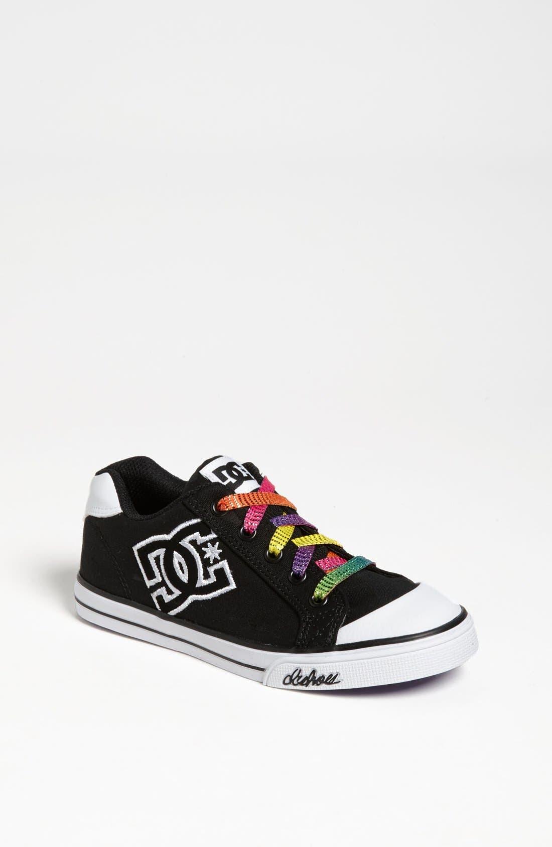 Alternate Image 1 Selected - DC Shoes 'Chelsea' Sneaker (Toddler, Little Kid & Big Kid)