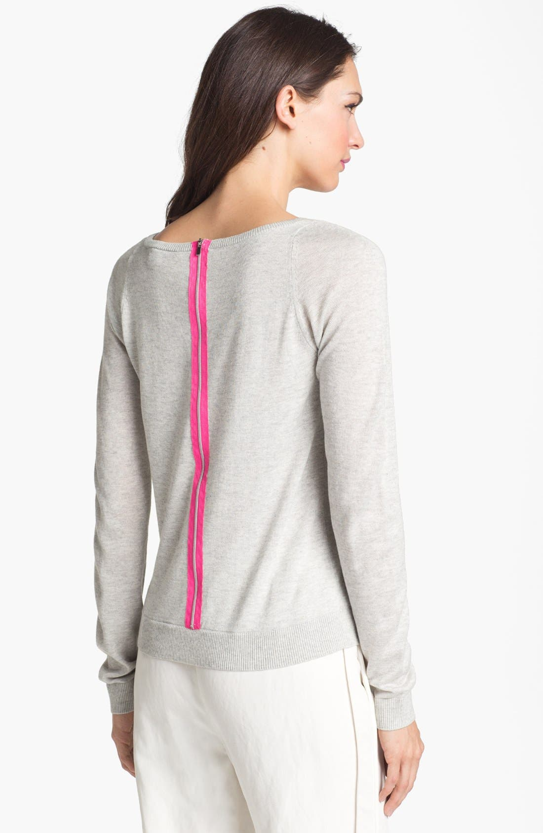 Alternate Image 2  - Diane von Furstenberg 'New Noa' Silk & Cashmere Sweater