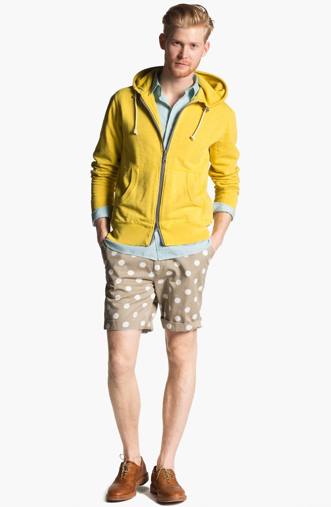 Alternate Image 4  - Jack Spade 'Cliff' Zip Hoodie