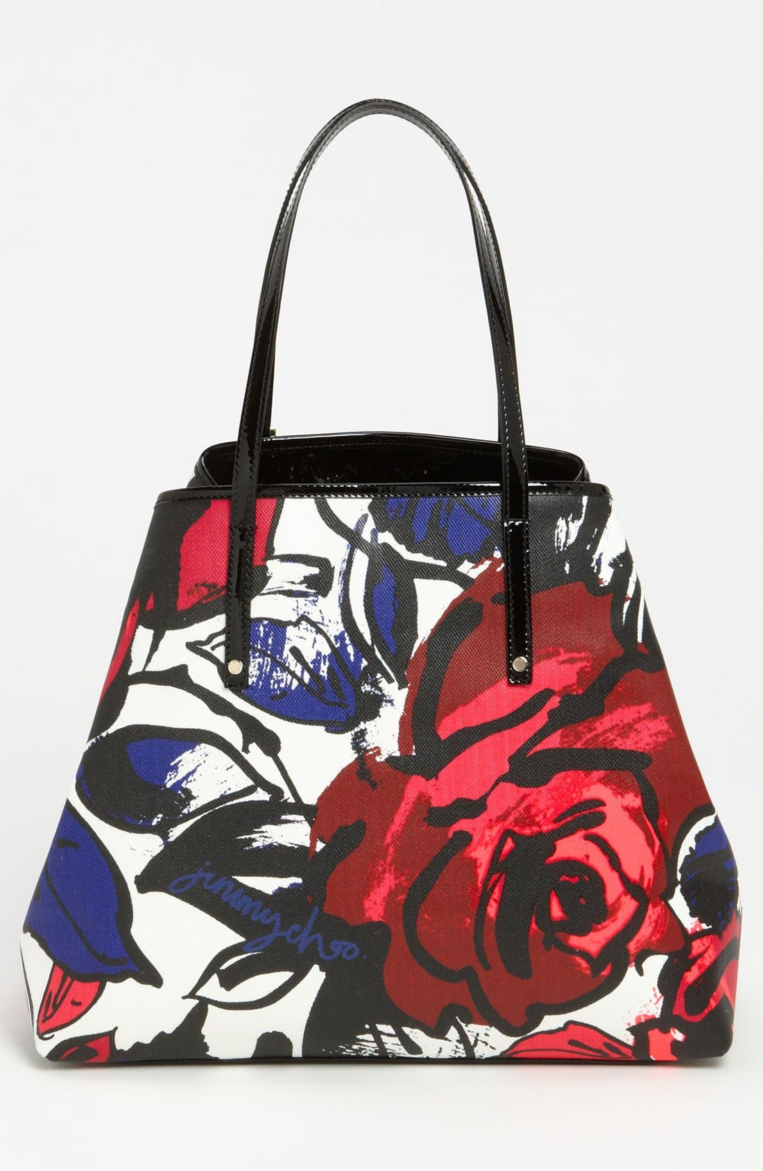 Alternate Image 4  - Jimmy Choo 'Sasha' Floral Tote