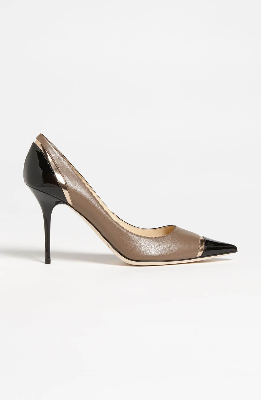 Alternate Image 4  - Jimmy Choo 'Lilo' Cap Toe Pump