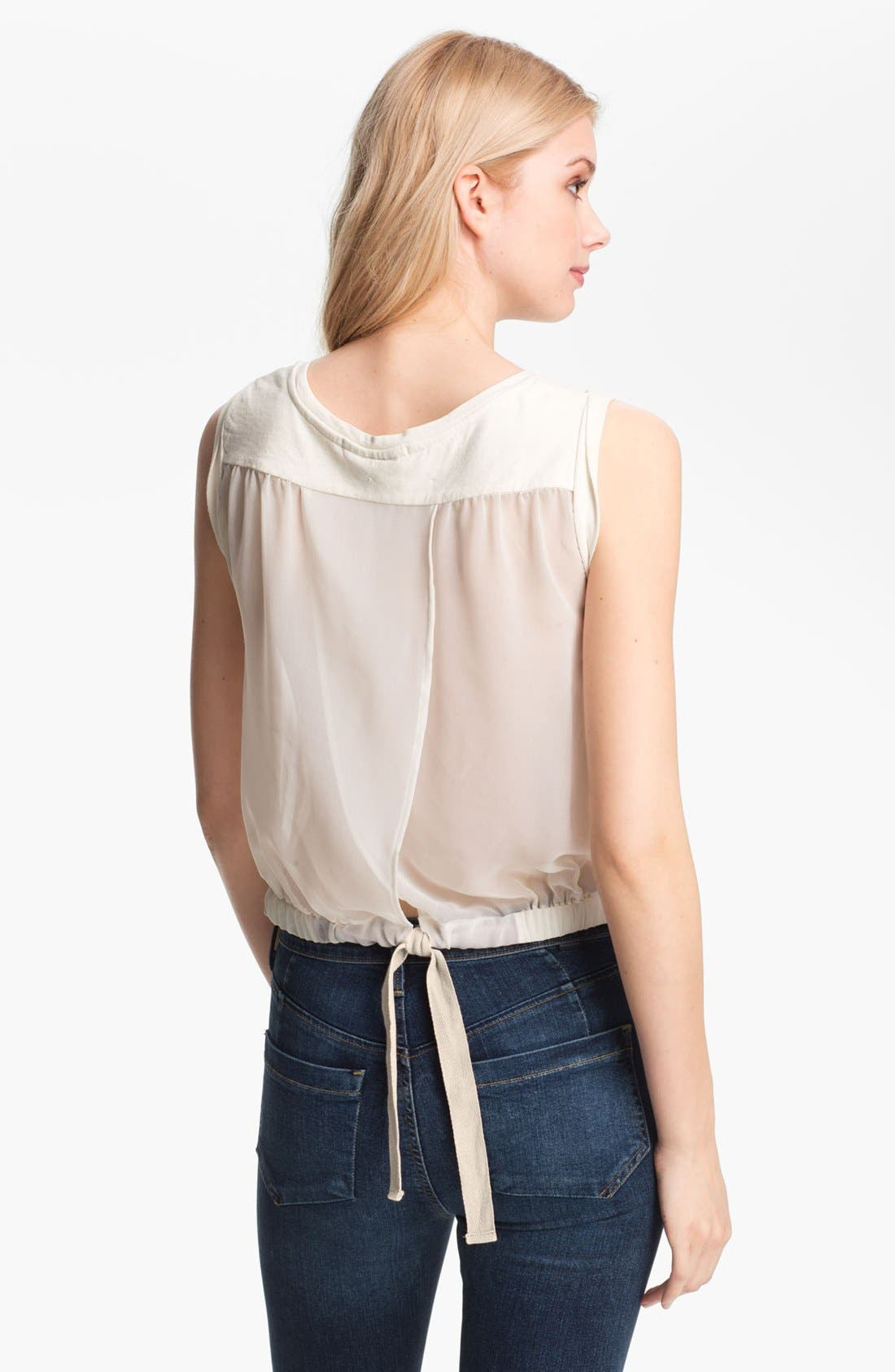 Alternate Image 2  - Maison Scotch Graphic Blouson Tank