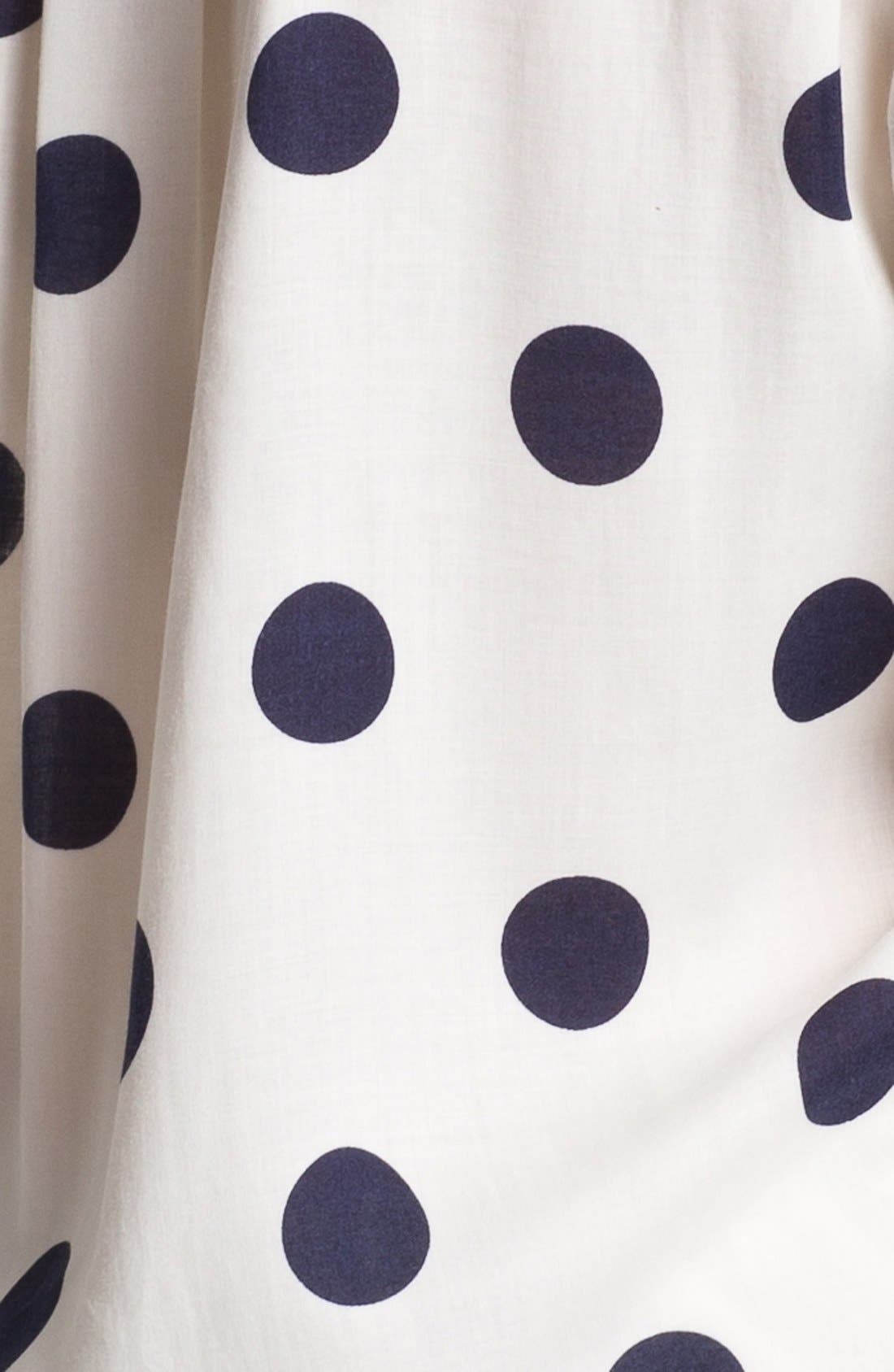 Alternate Image 3  - Two by Vince Camuto Polka Dot Shirt