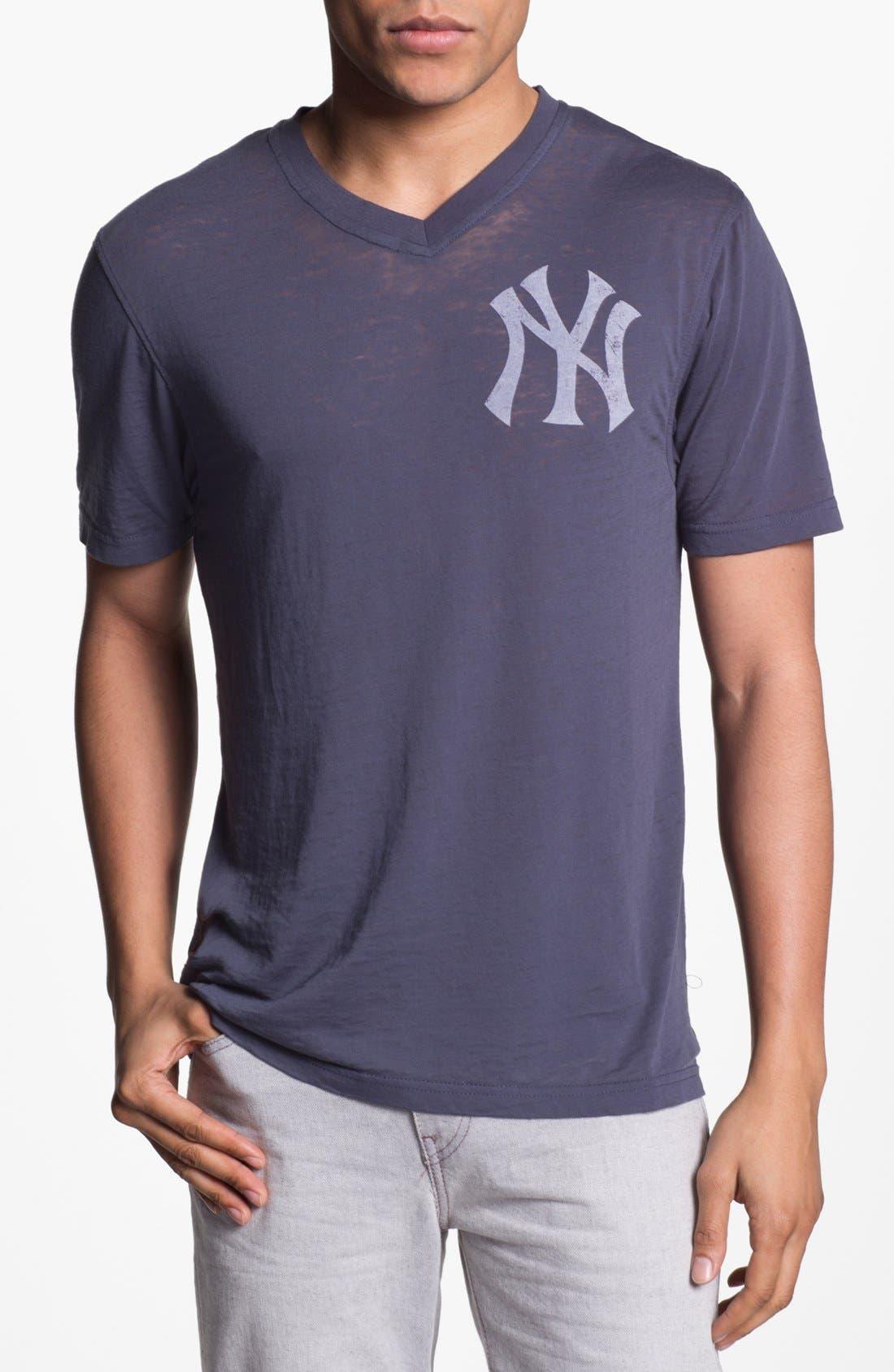 Alternate Image 1 Selected - Red Jacket 'Yankees - V-Wood' V-Neck T-Shirt