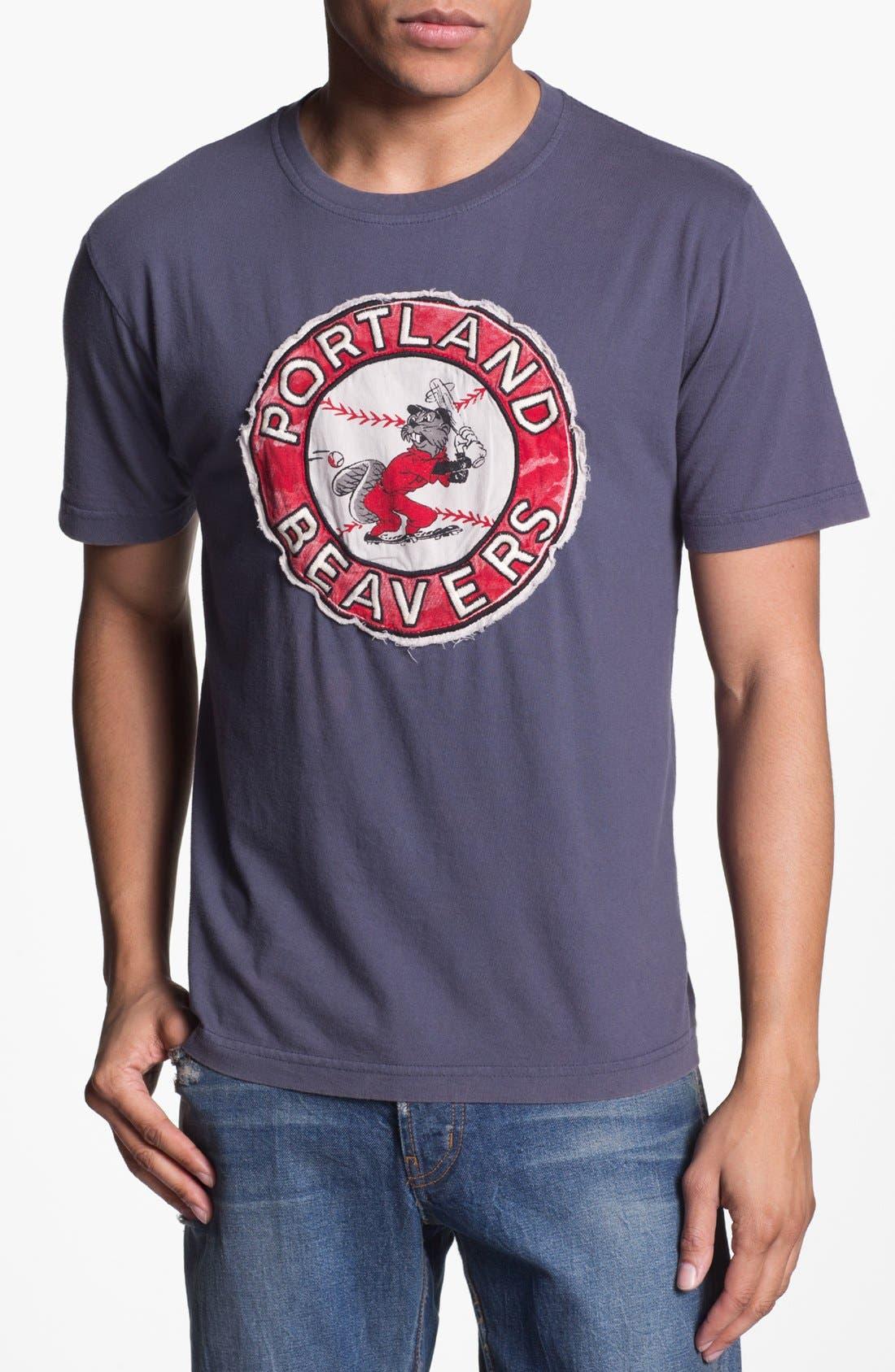 Alternate Image 1 Selected - Red Jacket 'Beavers - Deadringer' T-Shirt