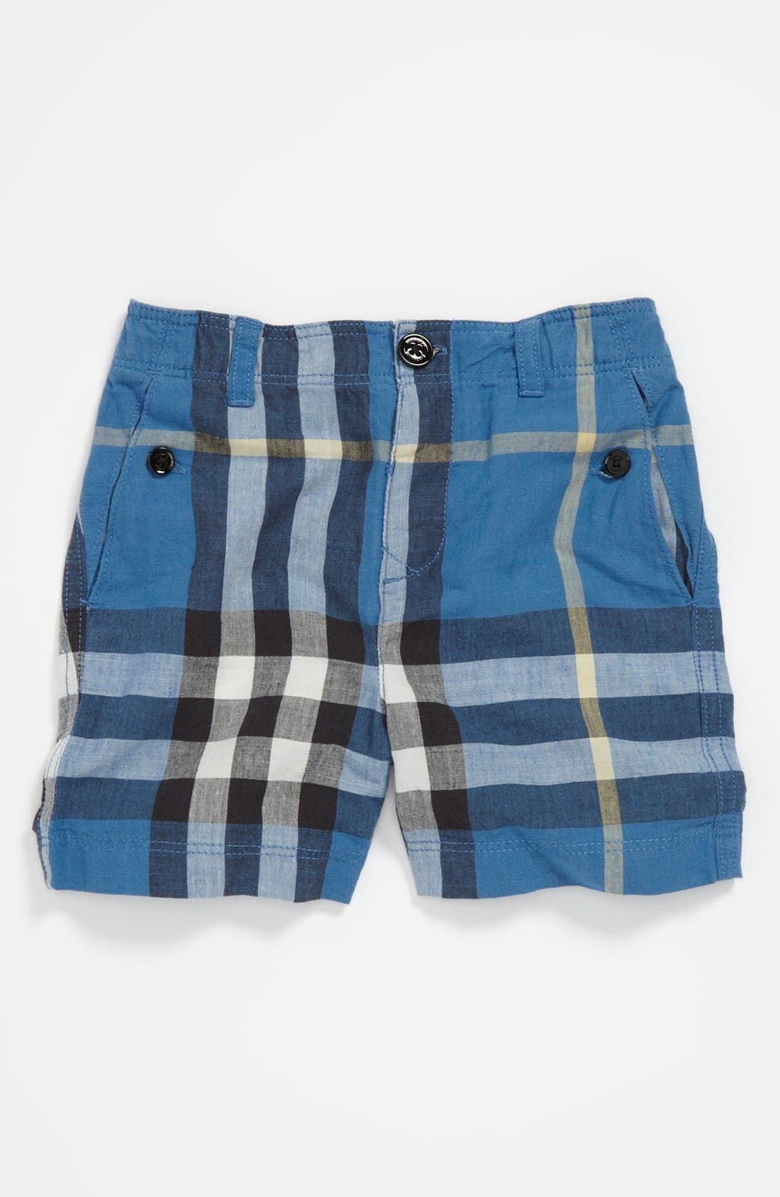 Alternate Image 1 Selected - Burberry 'Mini Scout' Shorts (Toddler)