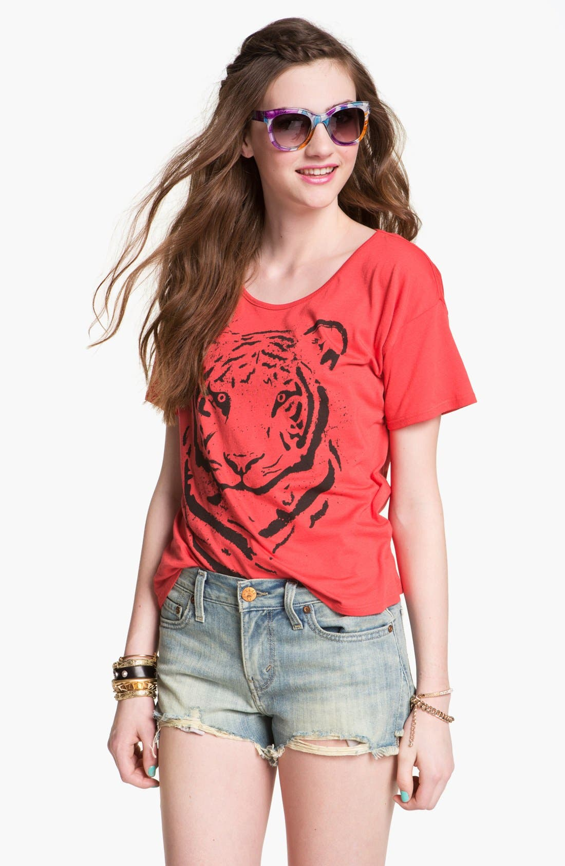 Alternate Image 1 Selected - Ten Sixty Sherman 'Tiger' Tee (Juniors)
