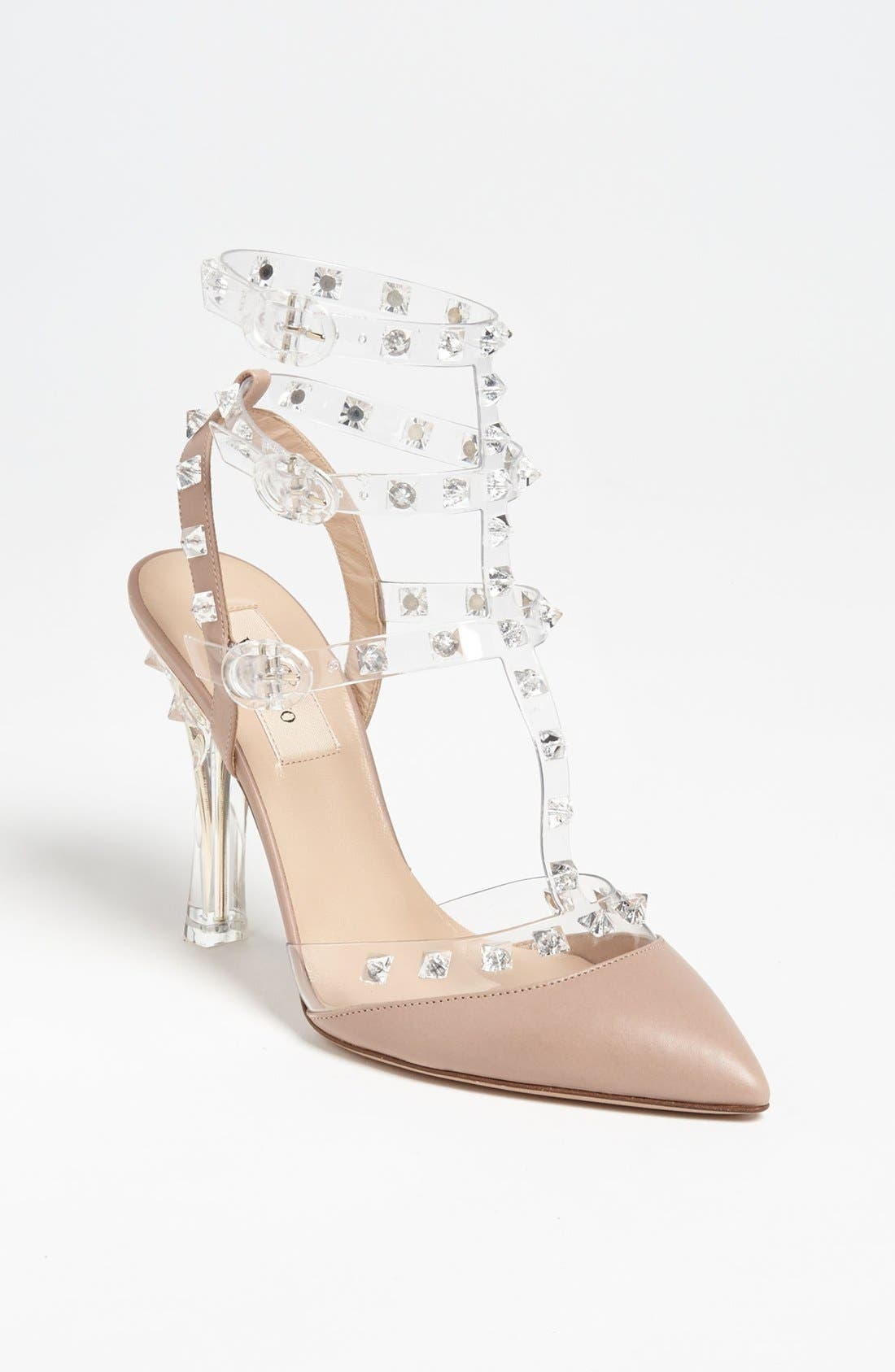 Alternate Image 1 Selected - VALENTINO GARAVANI 'Rockstud' T-Strap Pump