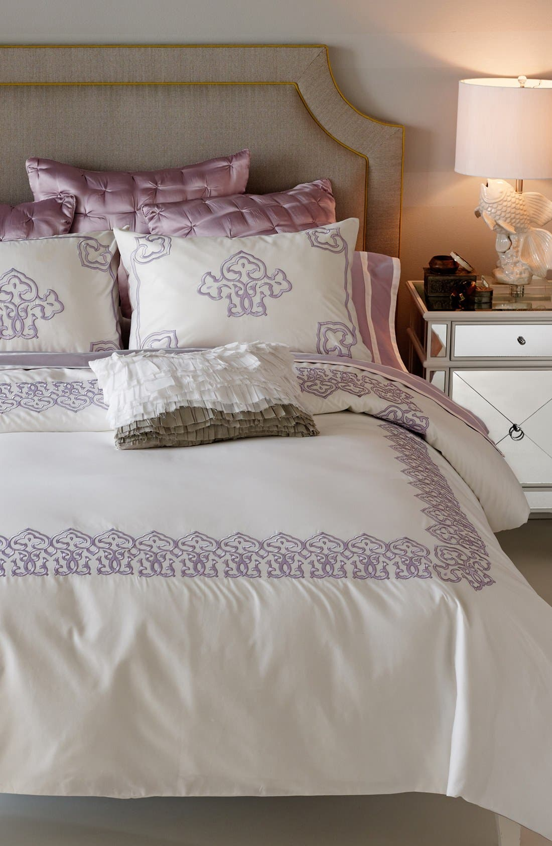 Alternate Image 1 Selected - Blissliving Home 'Dayliya Thistle' Duvet Set (Online Only)