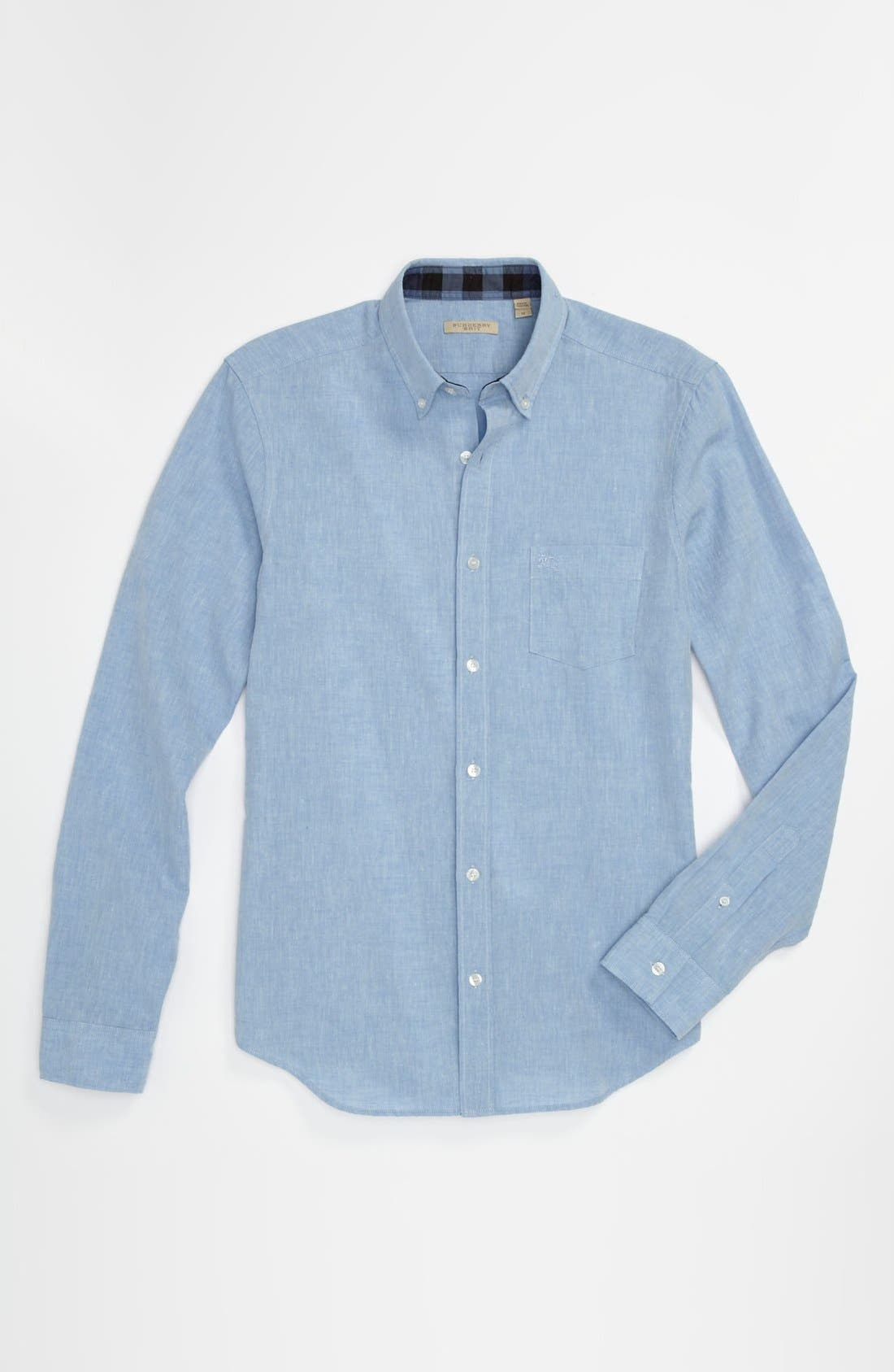 Alternate Image 4  - Burberry Brit 'Fred' Sport Shirt