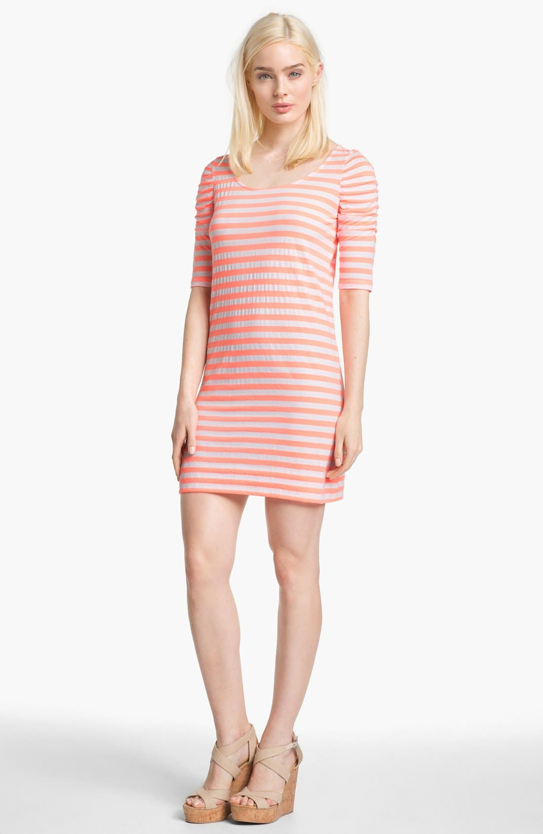 Alternate Image 1 Selected - Lilly Pulitzer® 'Kaley' Stripe T-Shirt Dress