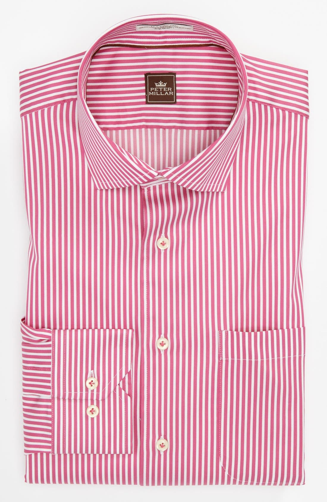 Alternate Image 1 Selected - Peter Millar Regular Fit Dress Shirt