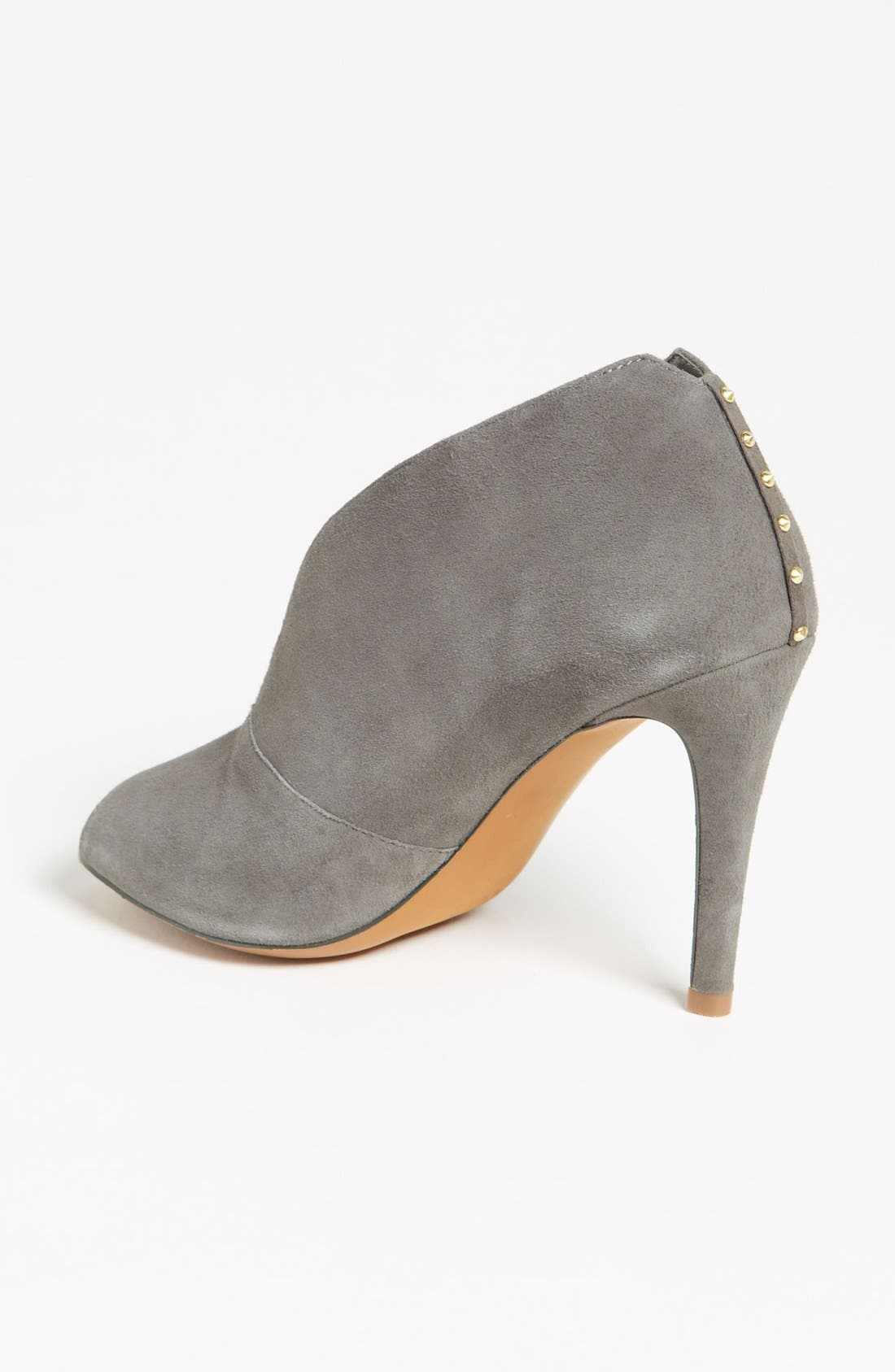 Halogen 'Katrina' Bootie,                             Alternate thumbnail 2, color,                             Grey Suede