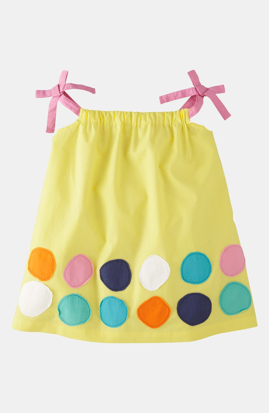 Alternate Image 1 Selected - Mini Boden 'Appliqué - Color Pop' Top (Toddler)