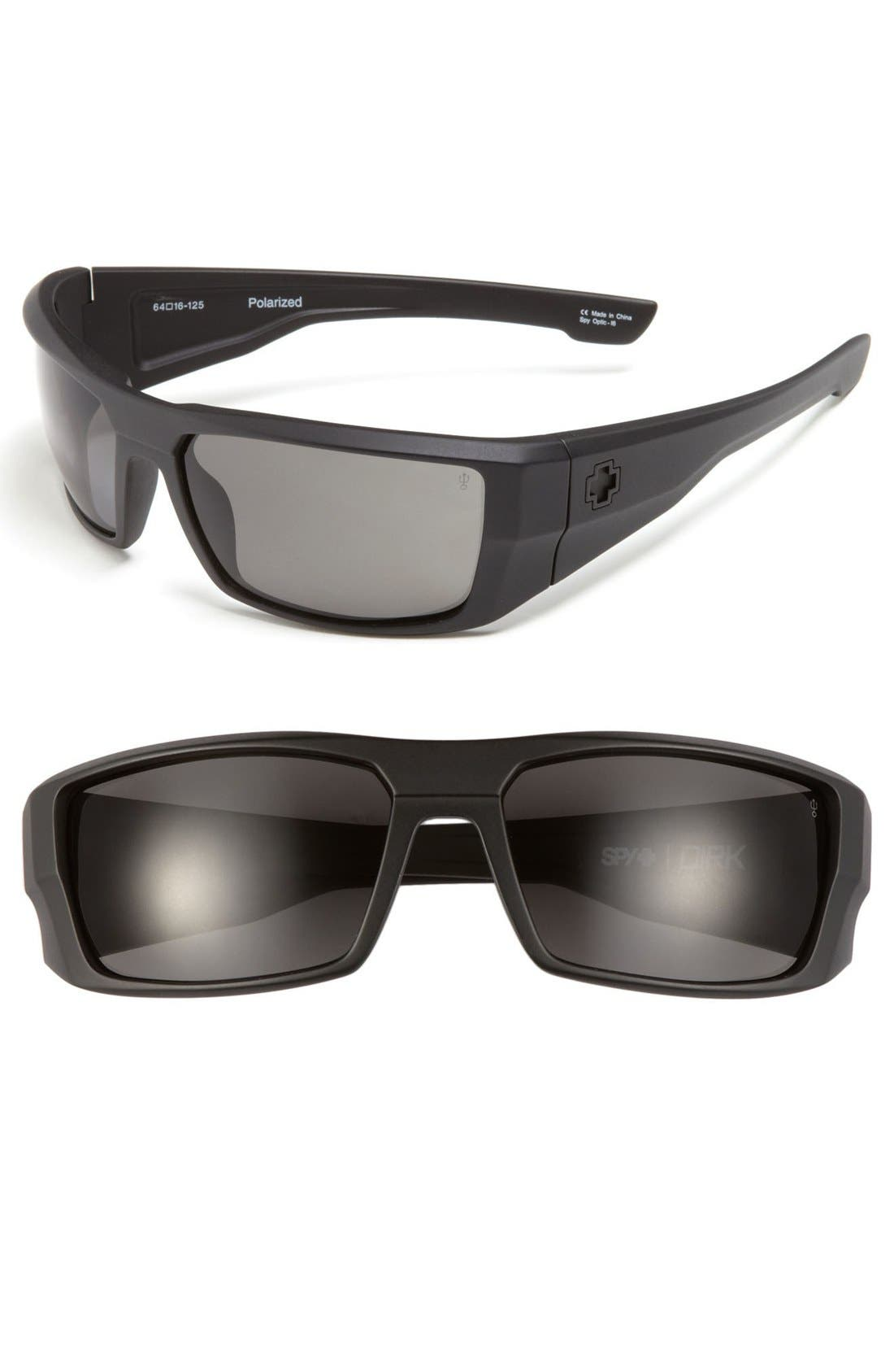 Main Image - SPY Optic 'Dirk' 64mm Polarized Sunglasses