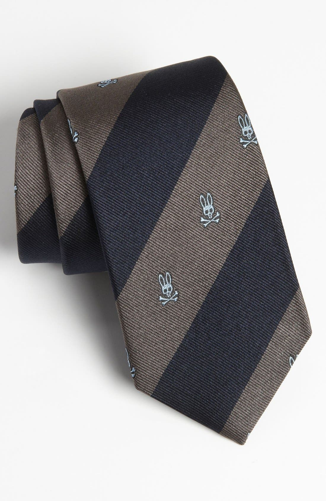 Alternate Image 1 Selected - Psycho Bunny Woven Silk Tie