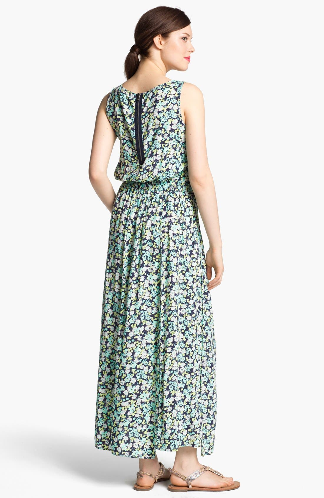 Alternate Image 2  - Two by Vince Camuto Print Tank Maxi Dress