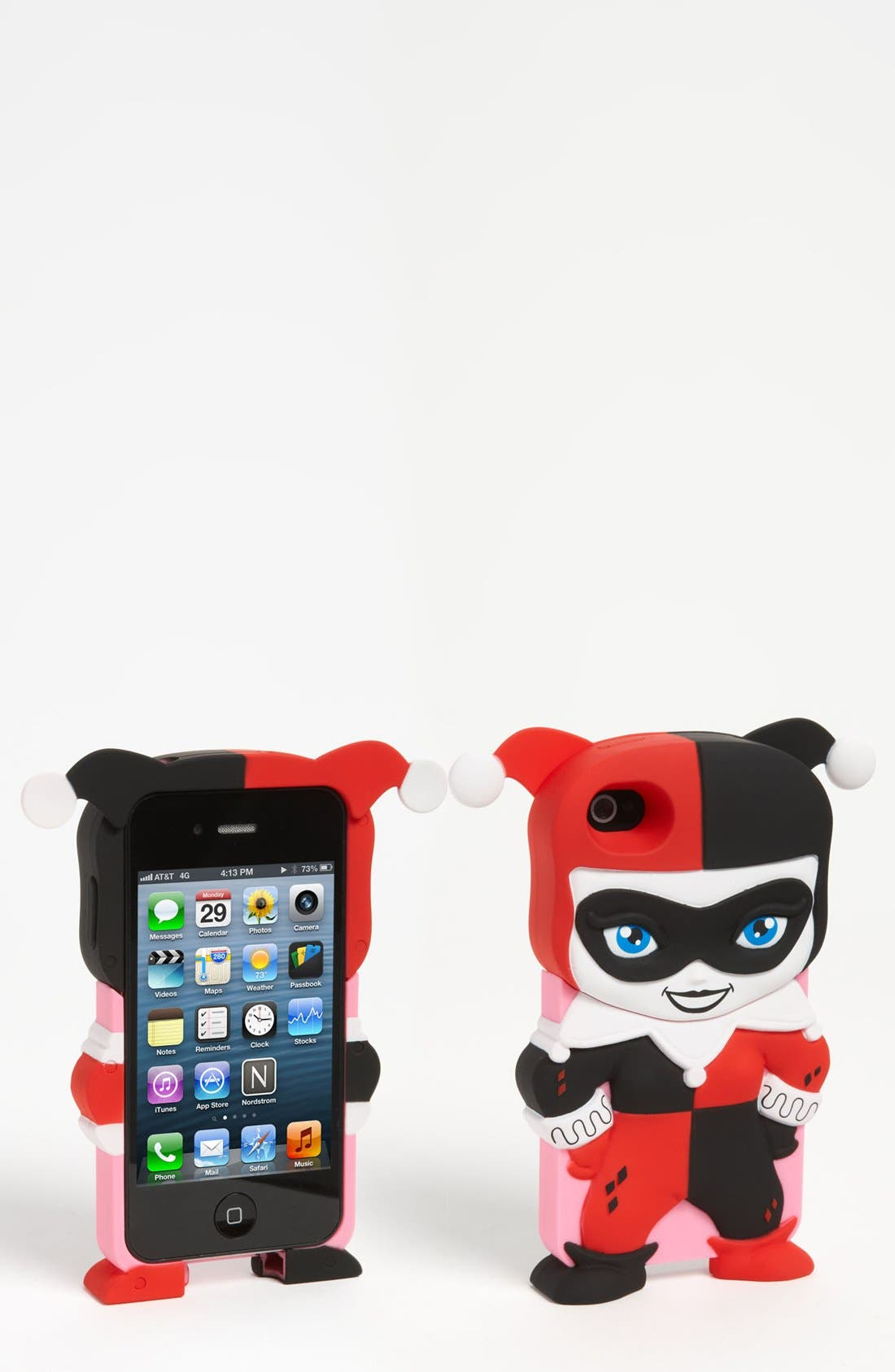 Main Image - DC Comics 'Chara-Cover - Harley Quinn' iPhone Case