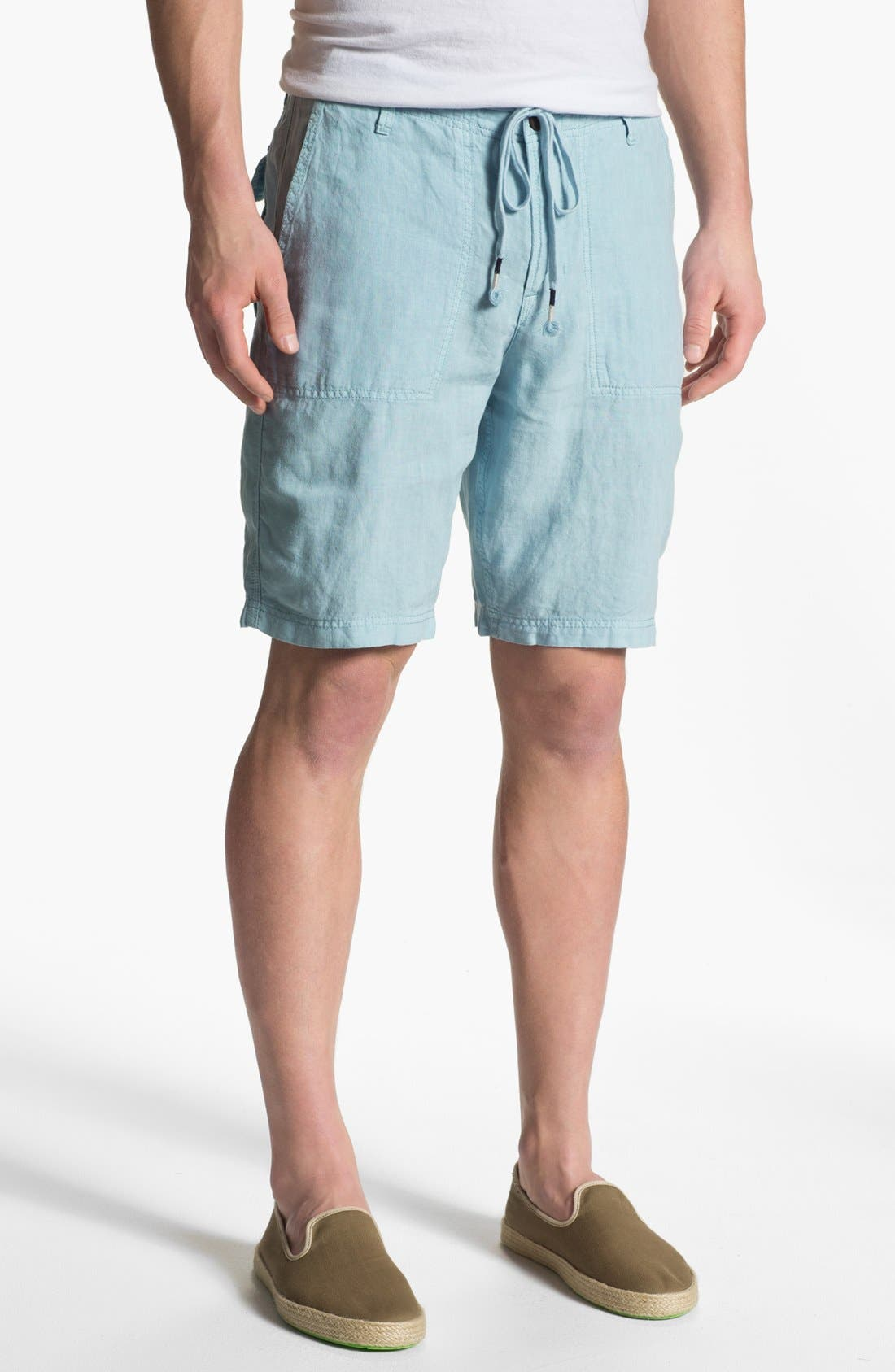 Alternate Image 1 Selected - Lucky Brand 'Vermont' Linen Shorts