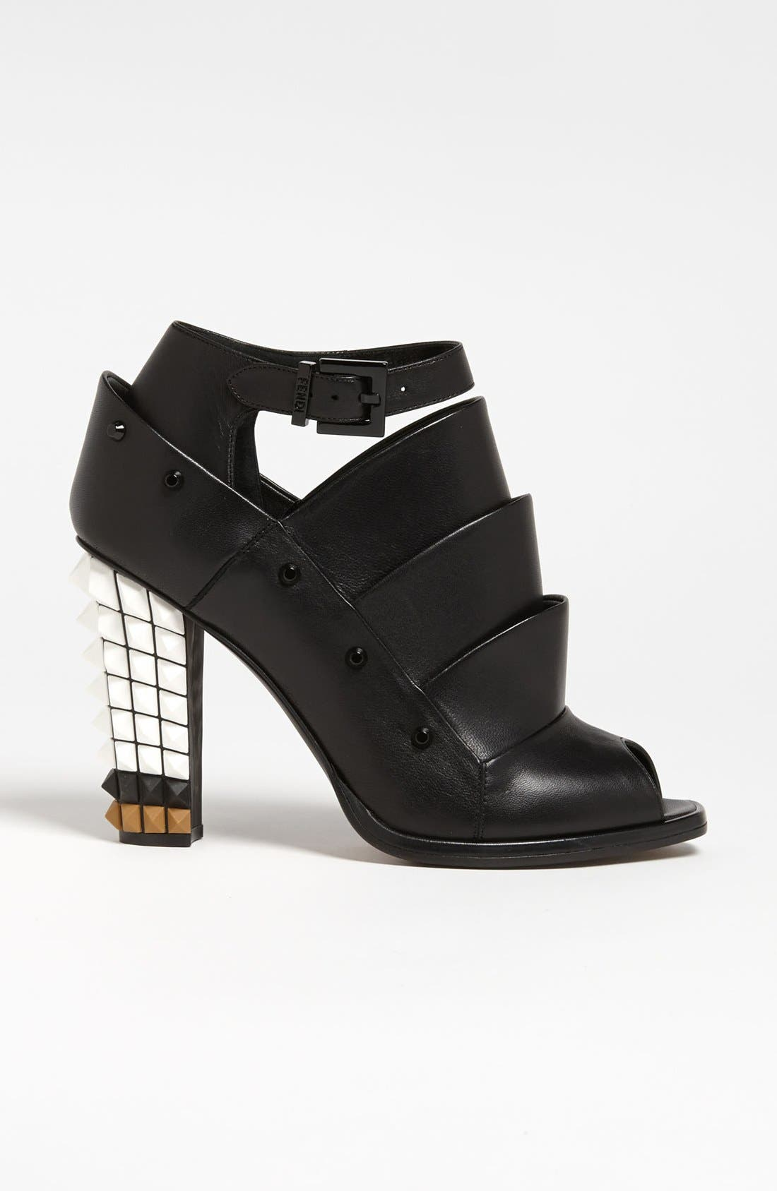 Alternate Image 4  - Fendi Ankle Strap Bootie