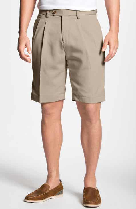 Cutter   Buck Double Pleated Microfiber Twill Shorts 3677491e1
