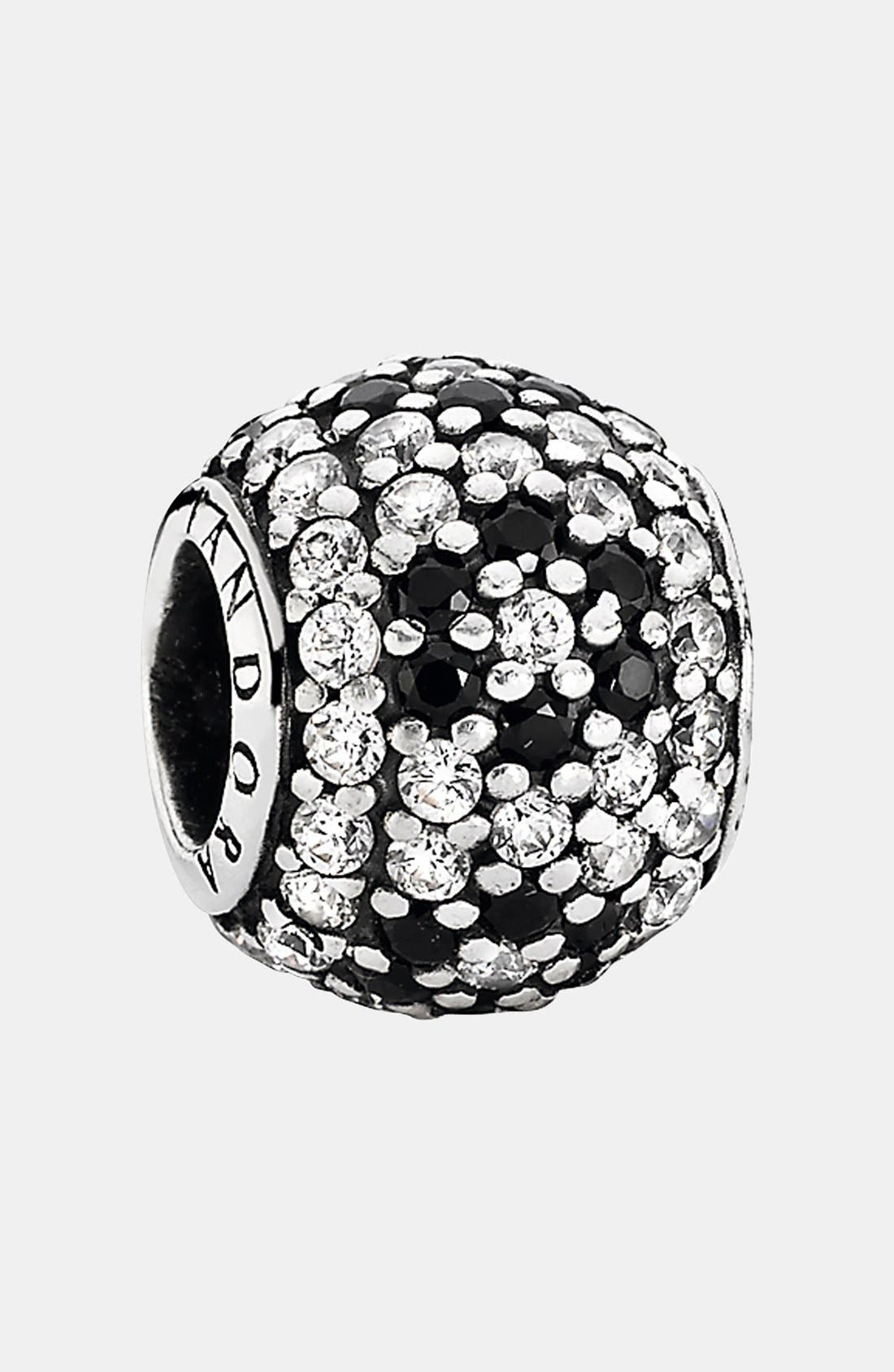 Alternate Image 1 Selected - PANDORA 'Shimmering Blossom' Bead Charm