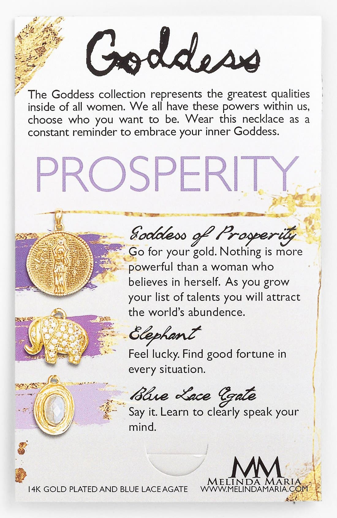 Alternate Image 2  - Melinda Maria 'Goddess of Prosperity' Cluster Pendant Necklace