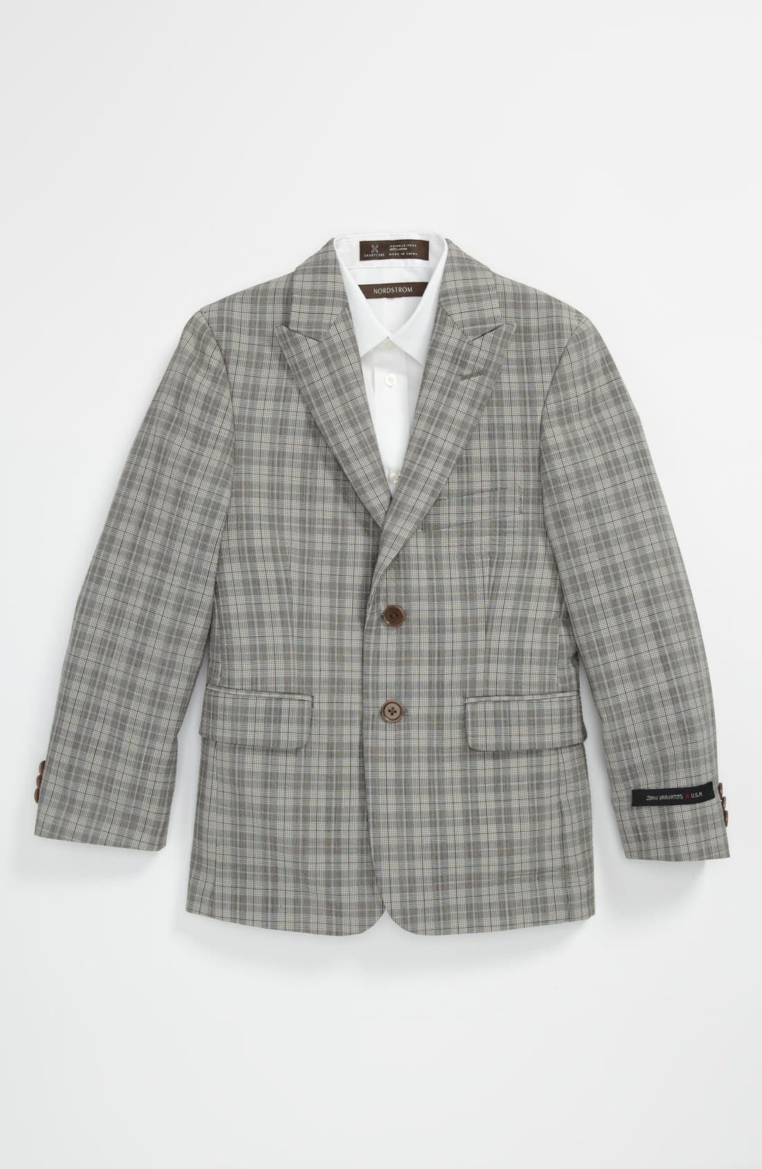 Main Image - John Varvatos Star USA Sportcoat (Big Boys)
