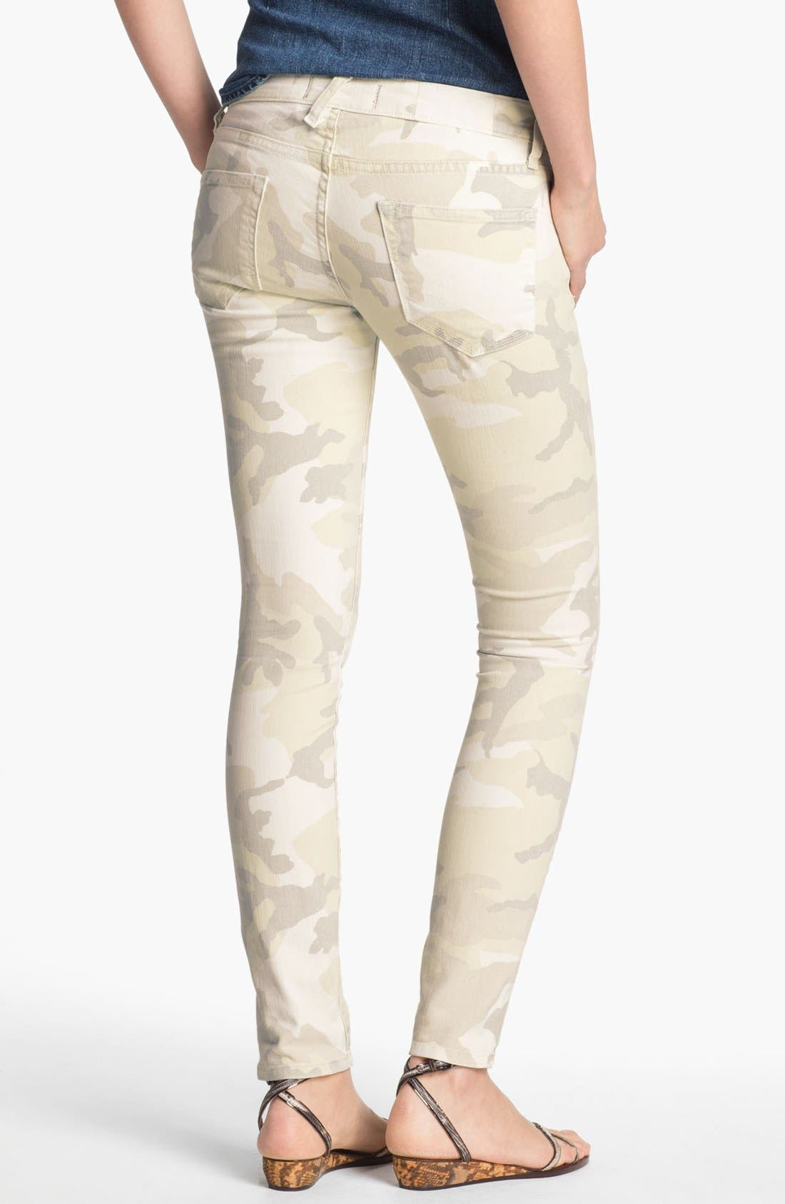 Alternate Image 2  - TEXTILE Elizabeth and James 'Debbie' Camo Print Stretch Jeans