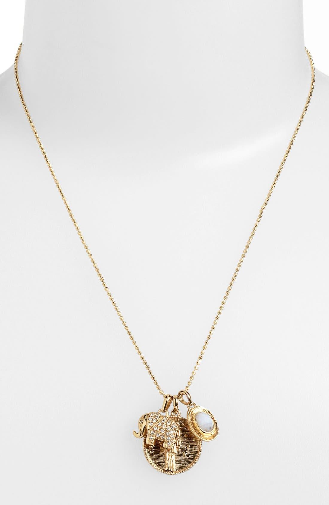Alternate Image 3  - Melinda Maria 'Goddess of Prosperity' Cluster Pendant Necklace