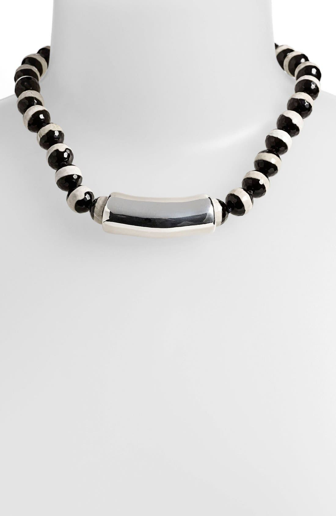 Main Image - Simon Sebbag 'Contemporary' Stone Necklace with Center Bead