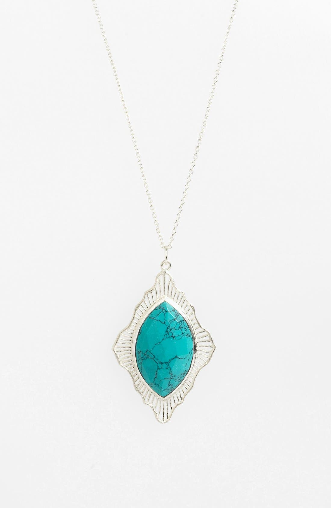 Main Image - Argento Vivo 'Valencia' Pendant Necklace (Nordstrom Exclusive)