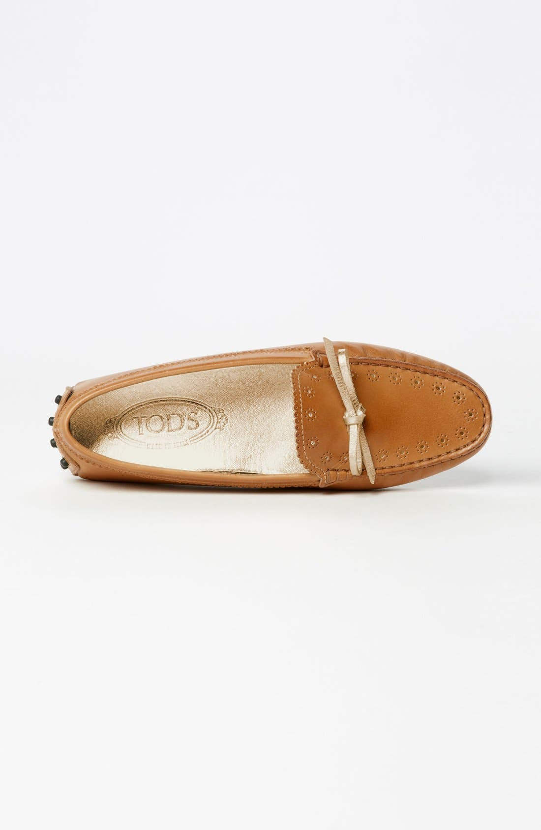 Alternate Image 4  - Tod's 'Heaven Laccetto' Driving Moccasin