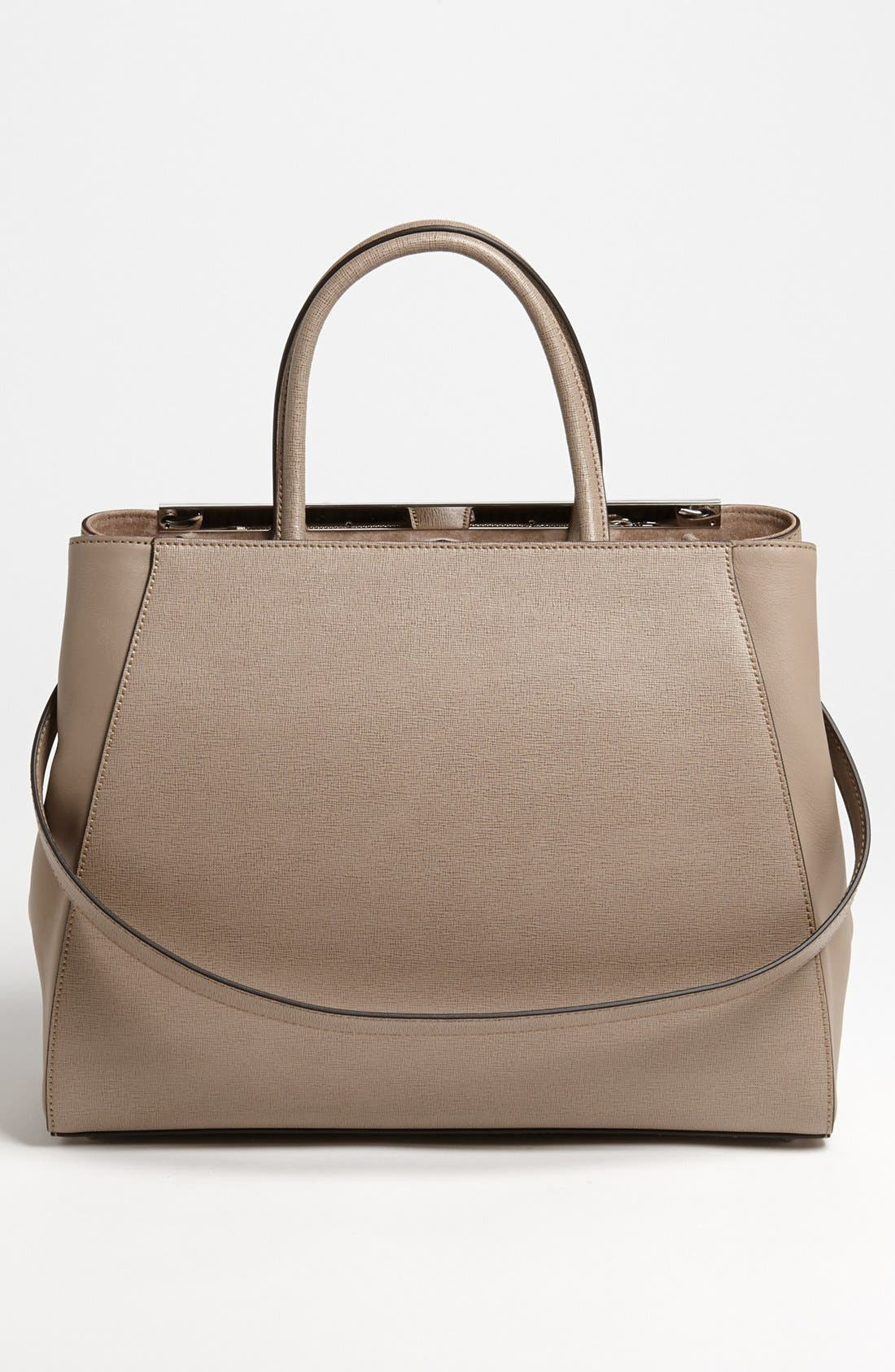 Alternate Image 3  - Fendi '2Jours Elite' Leather Shopper