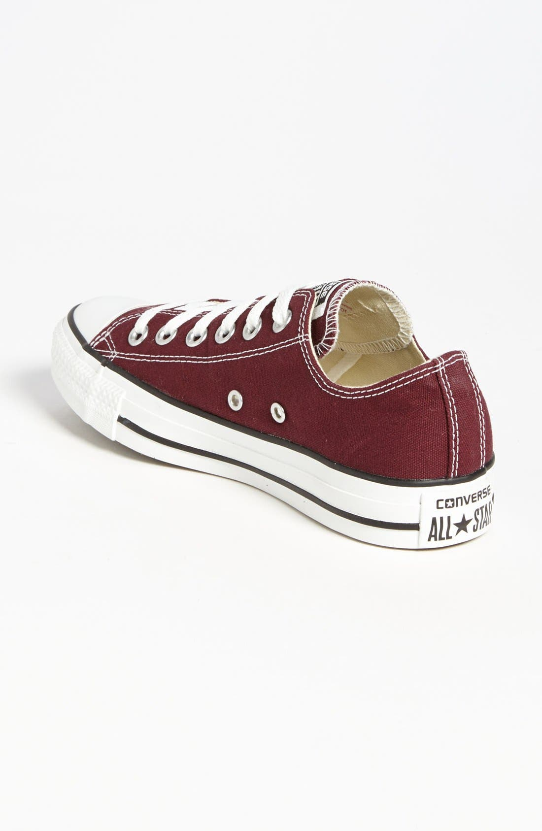 Chuck Taylor<sup>®</sup> All Star<sup>®</sup> Sneaker,                             Alternate thumbnail 2, color,                             Burgundy