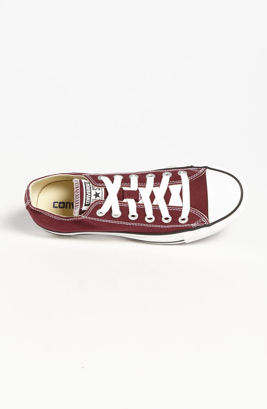 Chuck Taylor<sup>®</sup> All Star<sup>®</sup> Sneaker,                             Alternate thumbnail 3, color,                             Burgundy