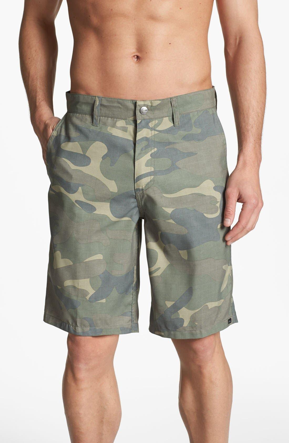Alternate Image 1 Selected - Quiksilver 'Duckbill' Hybrid Shorts