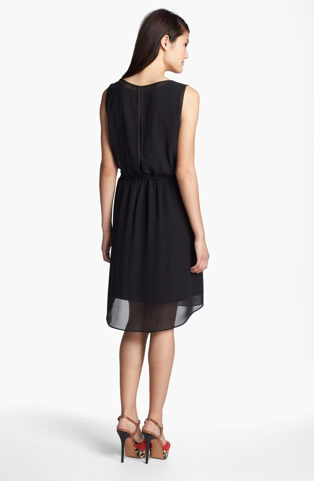 Alternate Image 2  - Kenneth Cole New York 'Amy' Sleeveless Drawstring  Dress