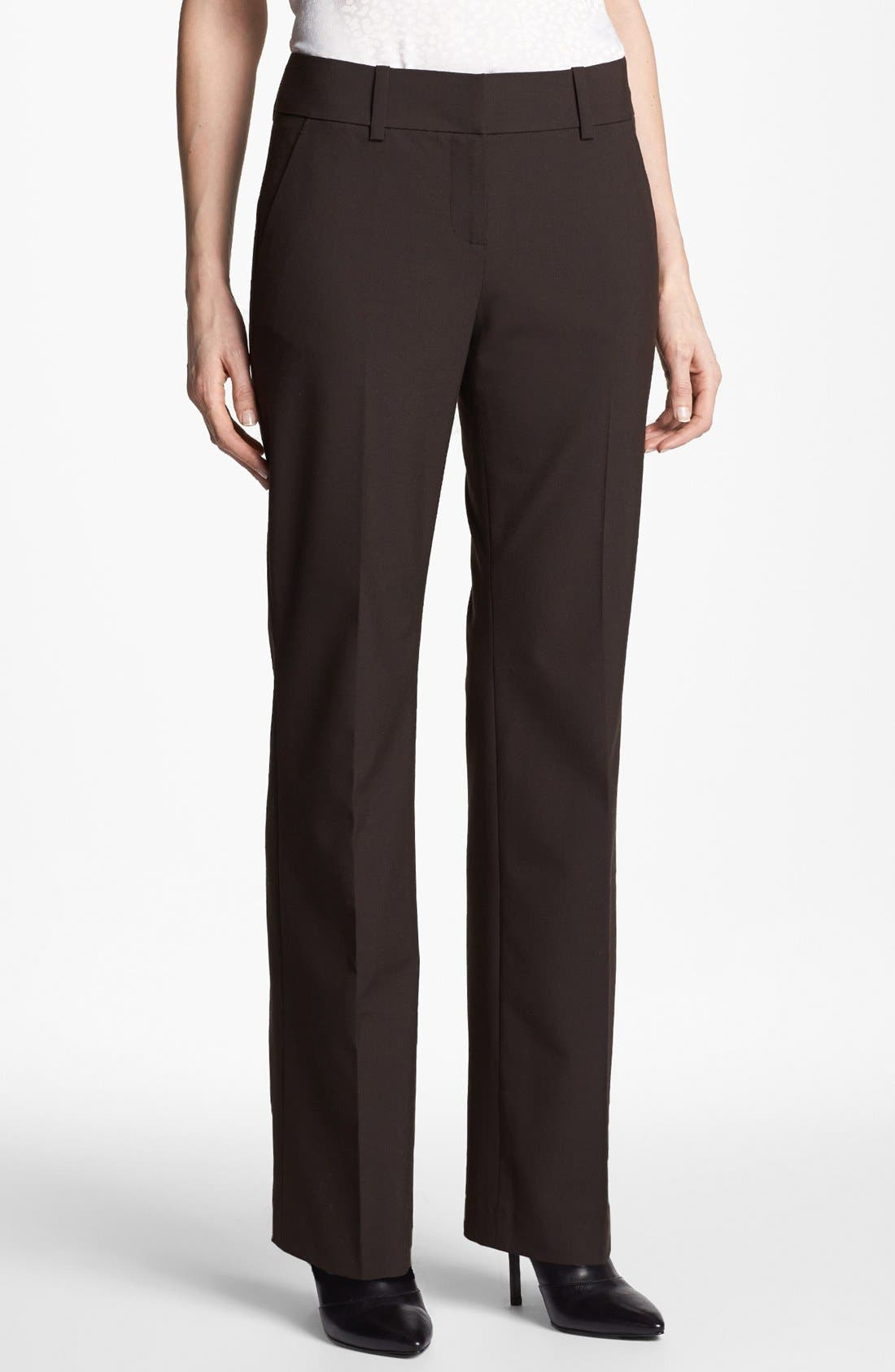 Alternate Image 1 Selected - Halogen® 'New Taylor' Pants