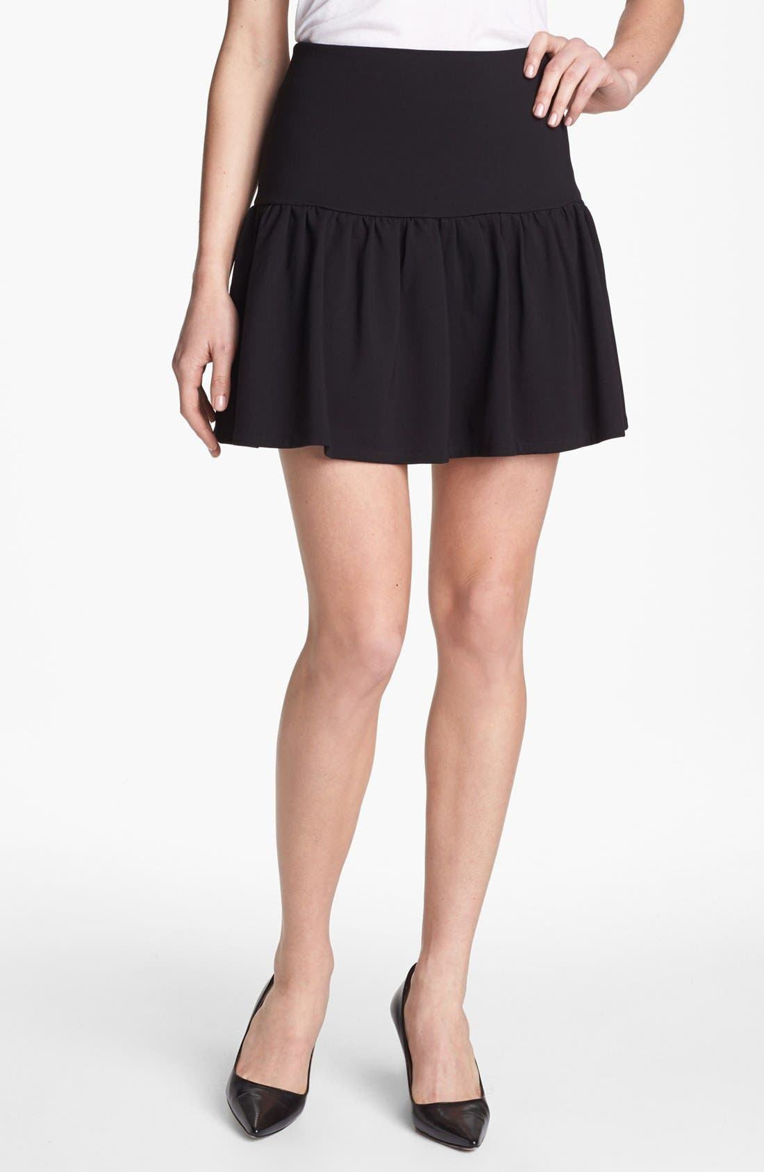 Alternate Image 1 Selected - Collective Concepts Ruffle Skirt