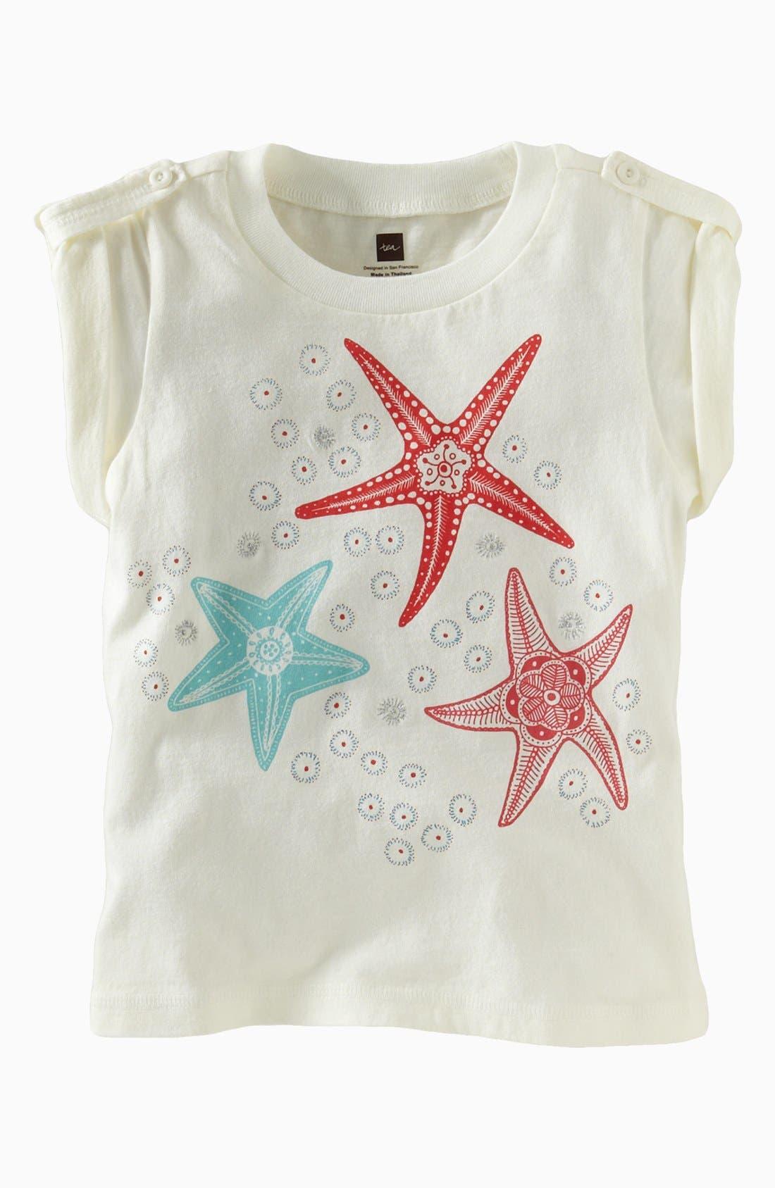 Main Image - Tea Collection 'Sea Star' Tee (Little Girls & Big Girls)