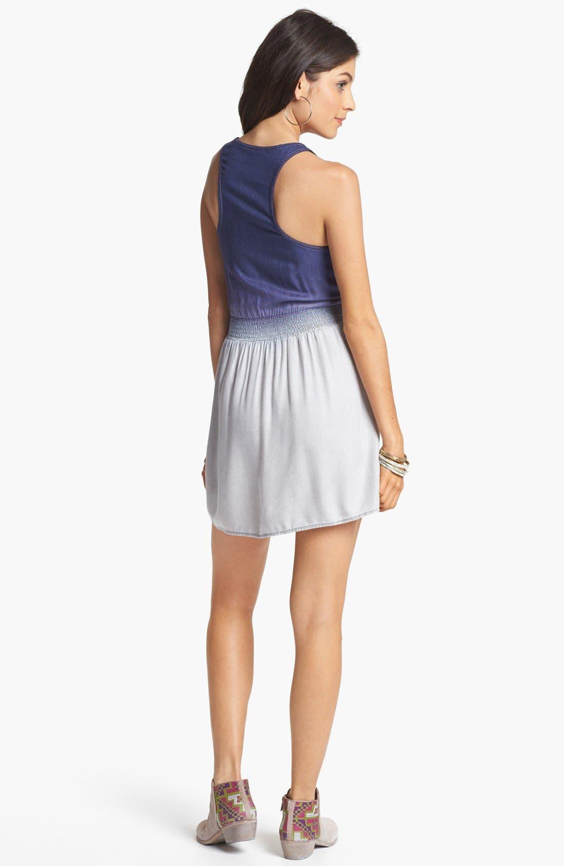 Alternate Image 2  - BP. Racerback Dress (Juniors)