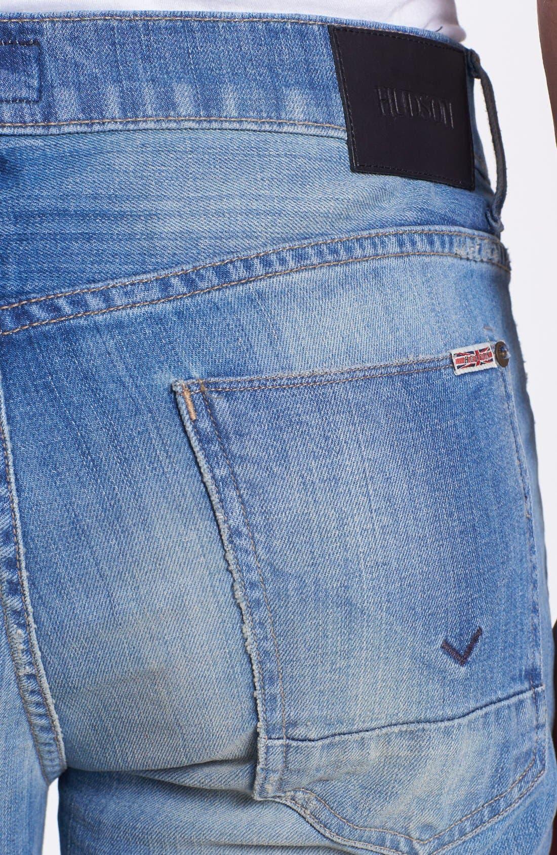 Alternate Image 4  - Hudson Jeans 'Byron' Straight Leg Jeans (Prague)