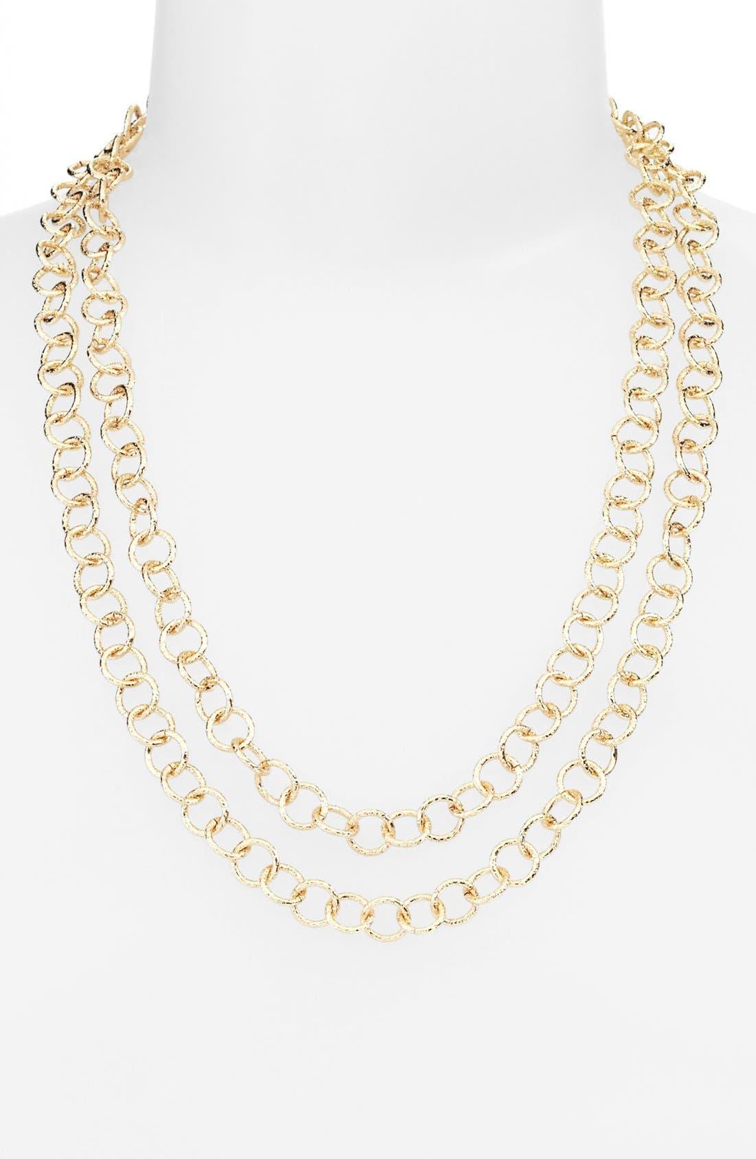 Alternate Image 3  - Nordstrom Extra Long Link Necklace
