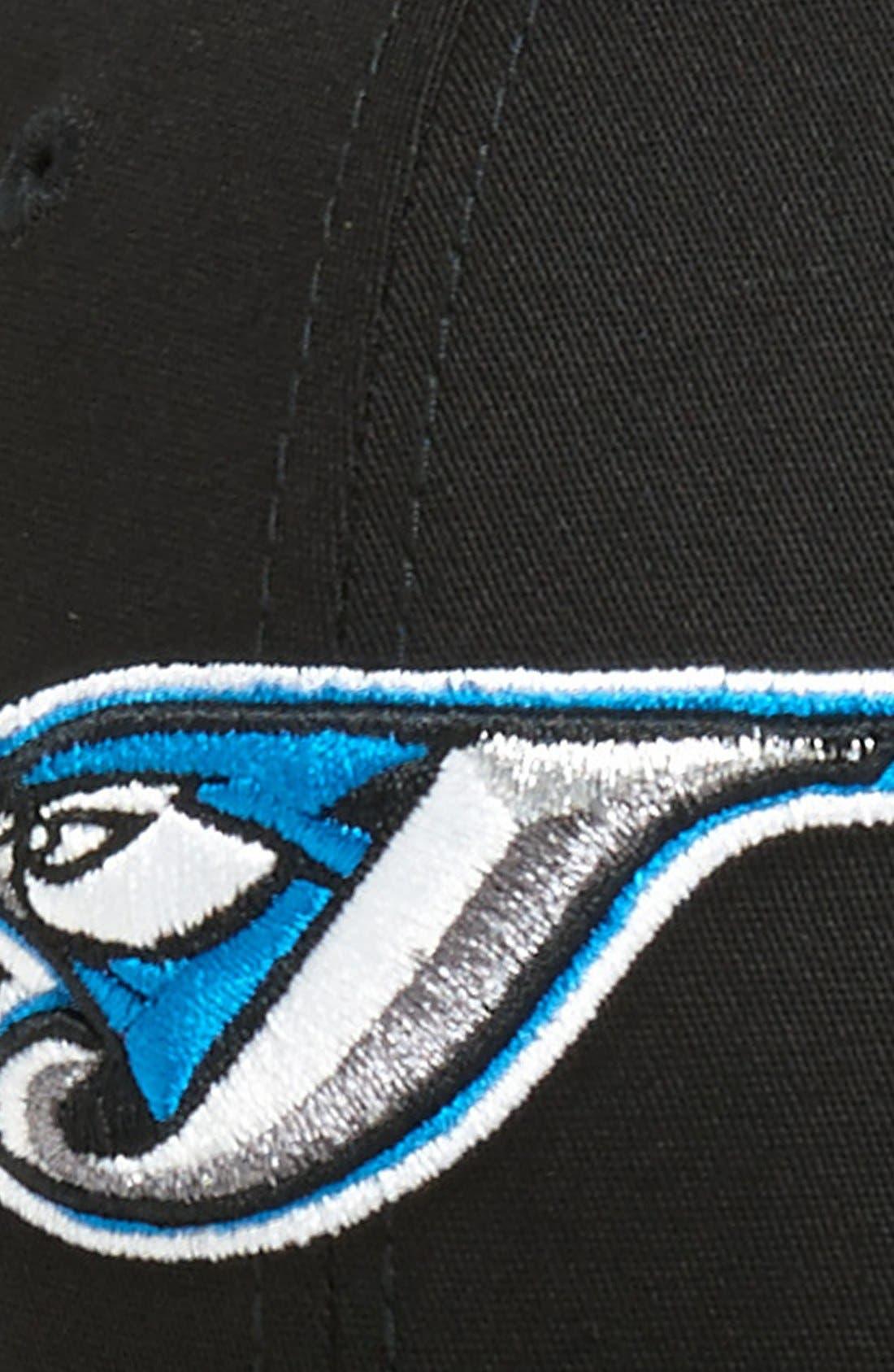 Alternate Image 2  - New Era Cap 'Toronto Blue Jays - Tie Breaker' Baseball Cap (Big Boys)