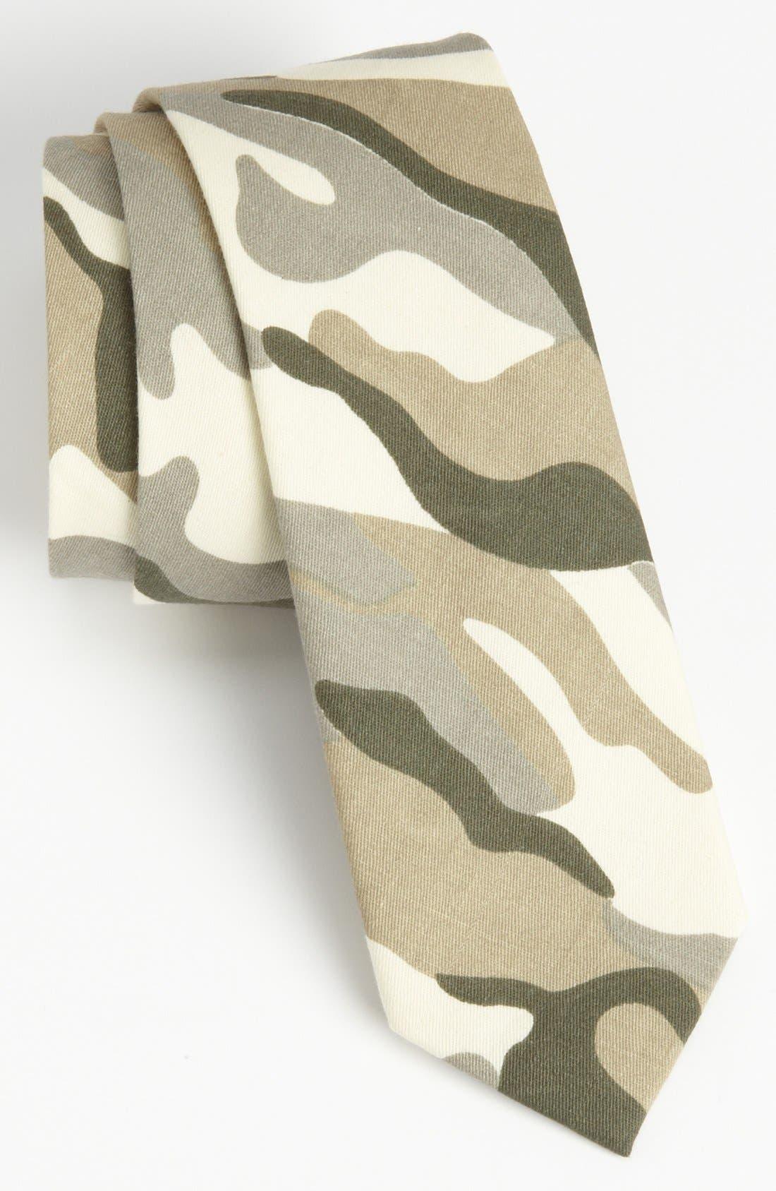 Alternate Image 1 Selected - Simon Printed Cotton Tie