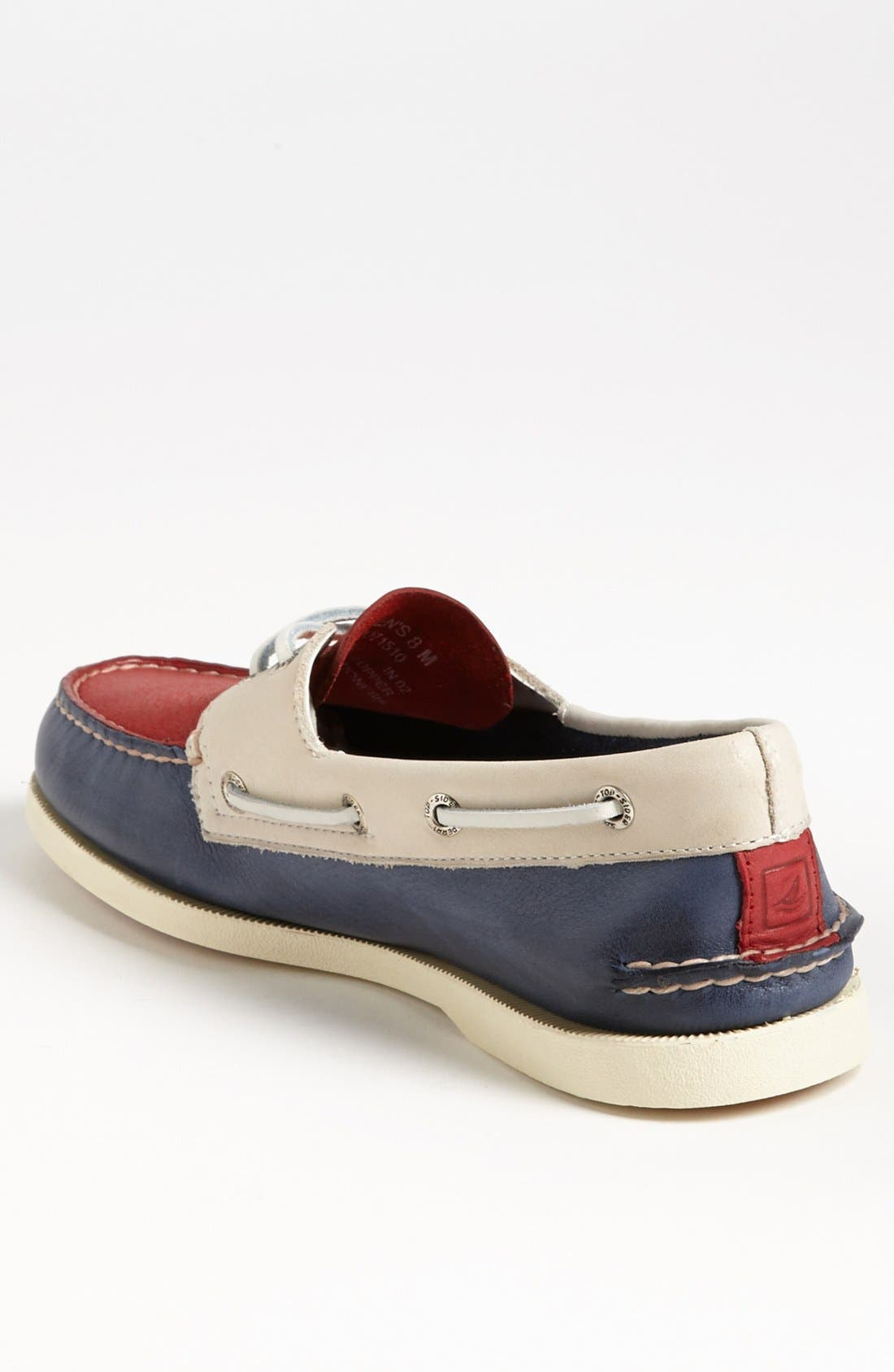 Alternate Image 2  - Sperry Top-Sider® 'Authentic Original' Burnished Boat Shoe (Men)